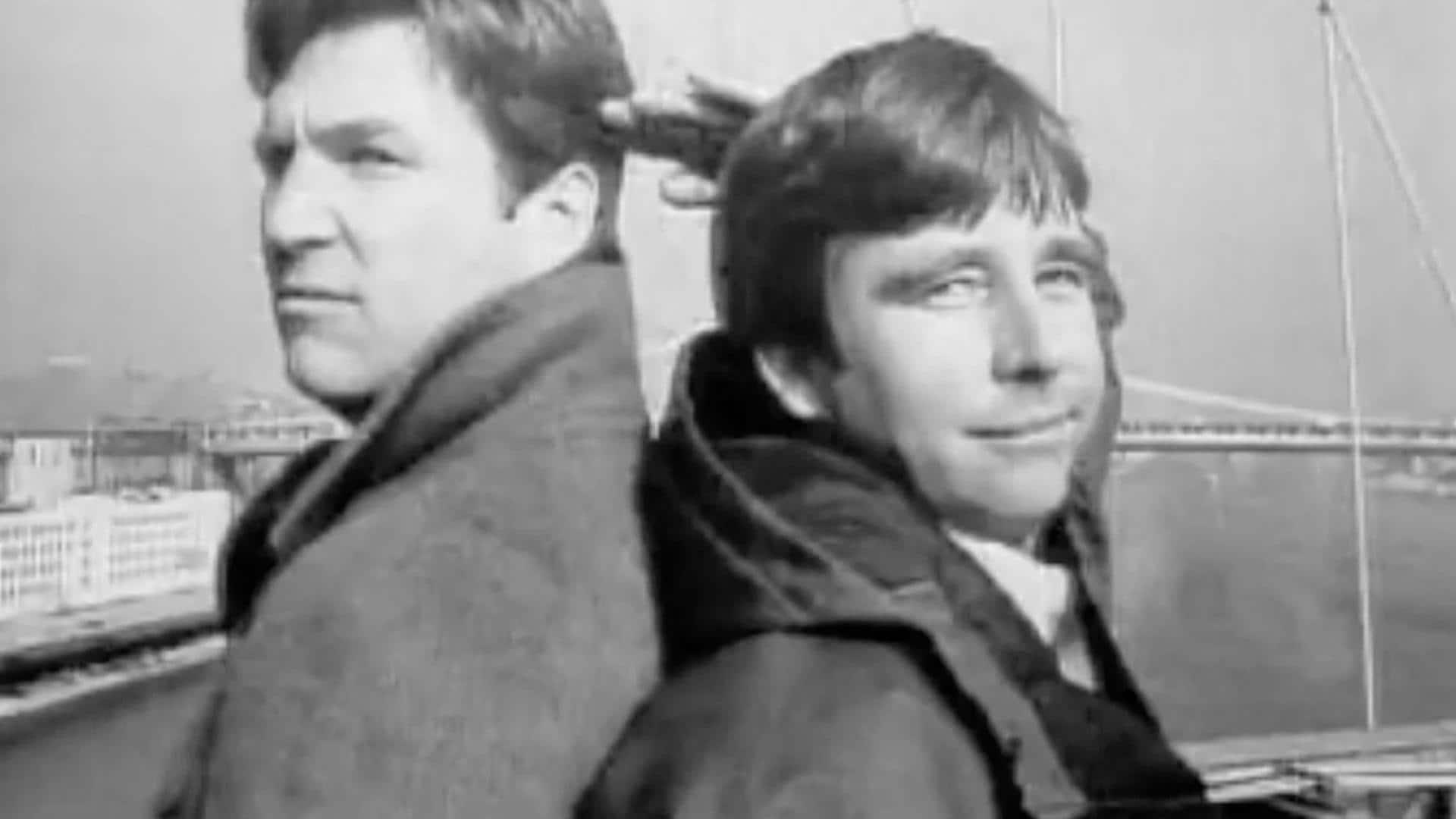Beau and Jeff Bridges: February 26, 1983