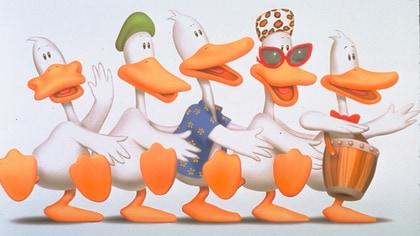 Running Ducks; Duck Naked