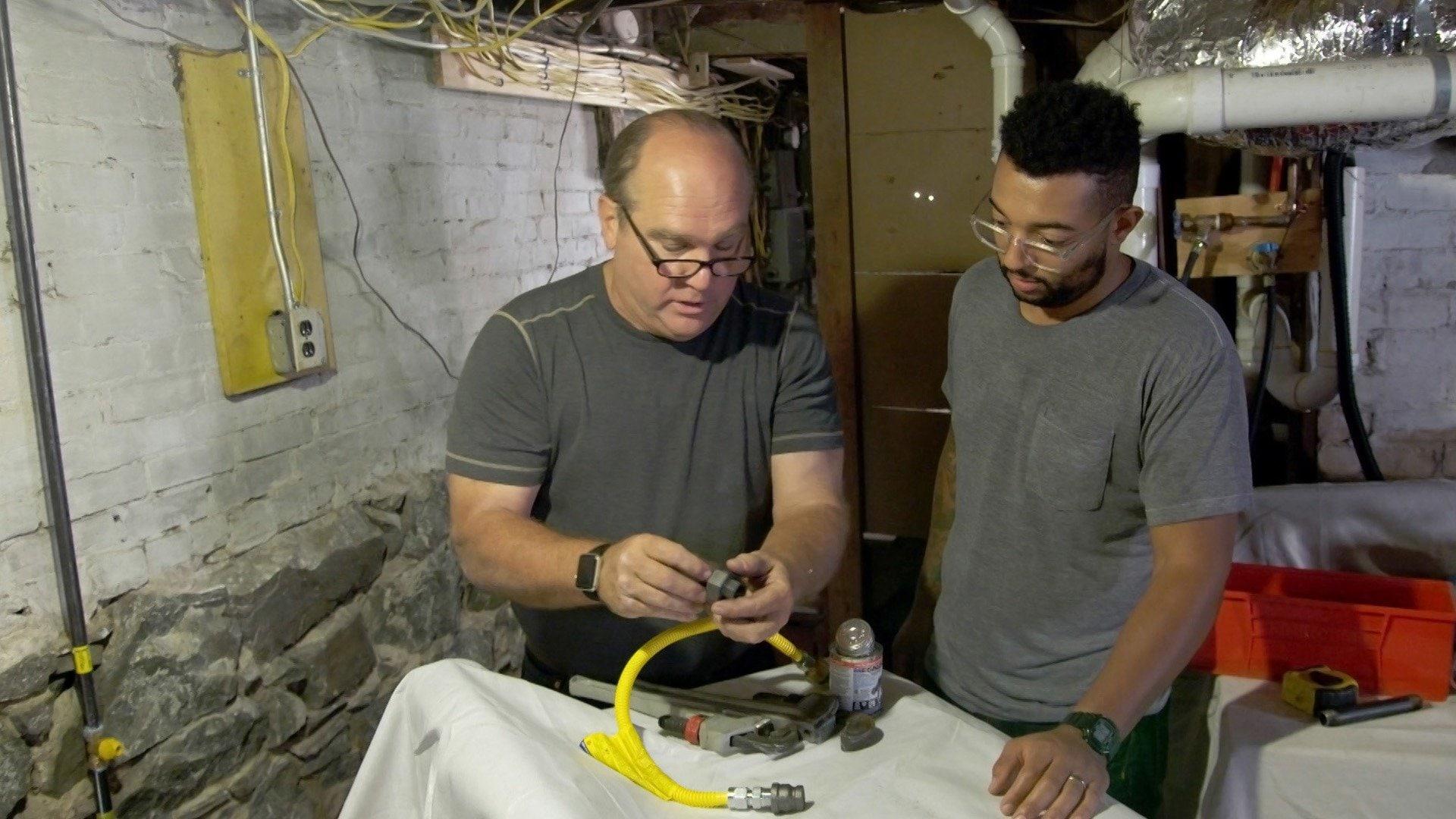 Stucco Repair; Gas Dryer
