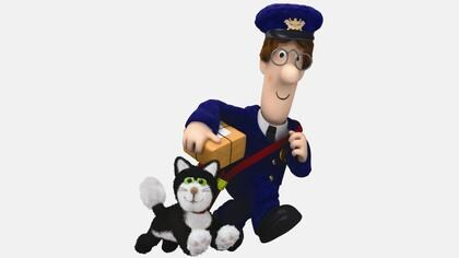 Postman Pat and the Pink Slippers