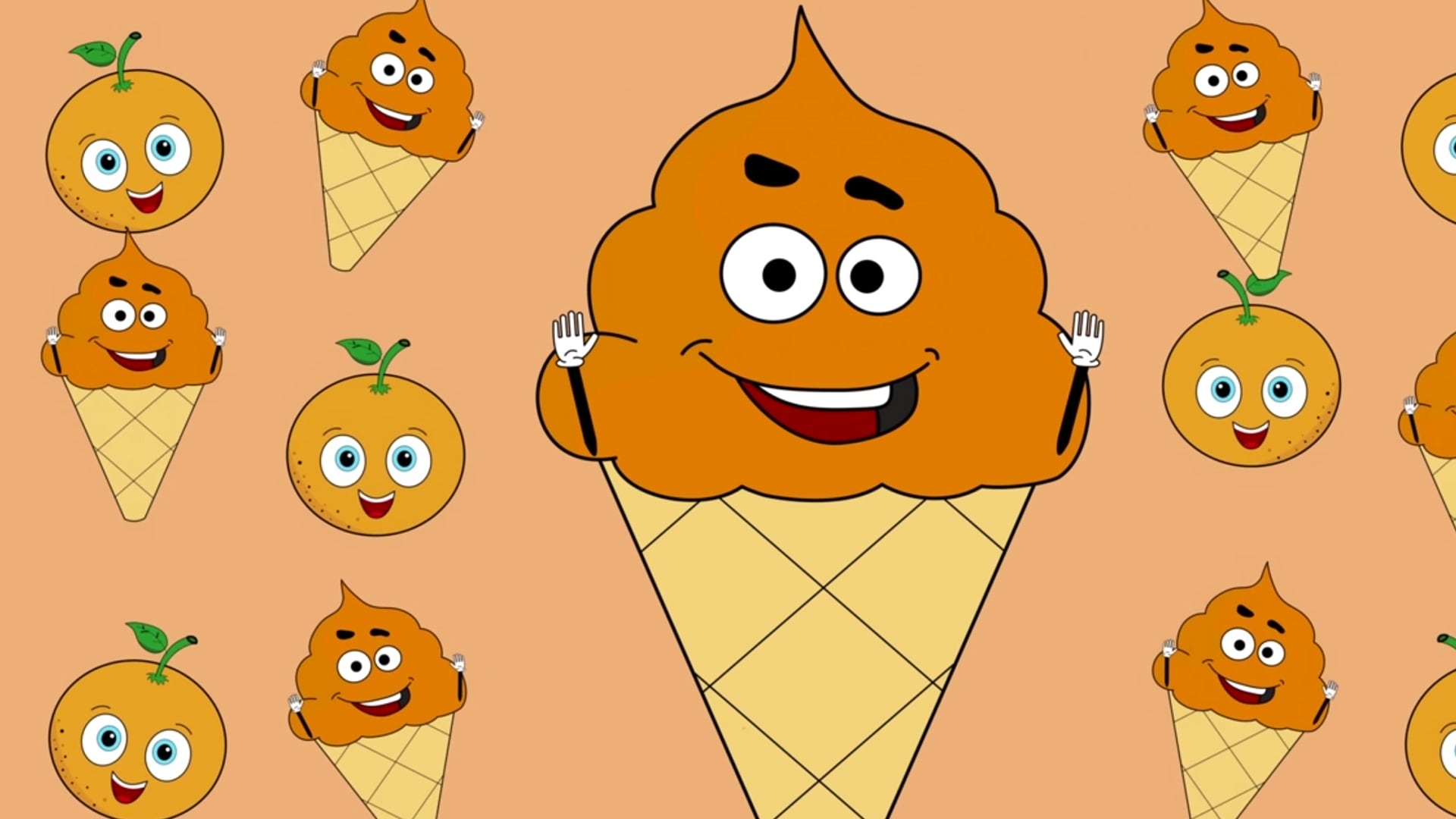 Fruits, Colors & More Kids Songs