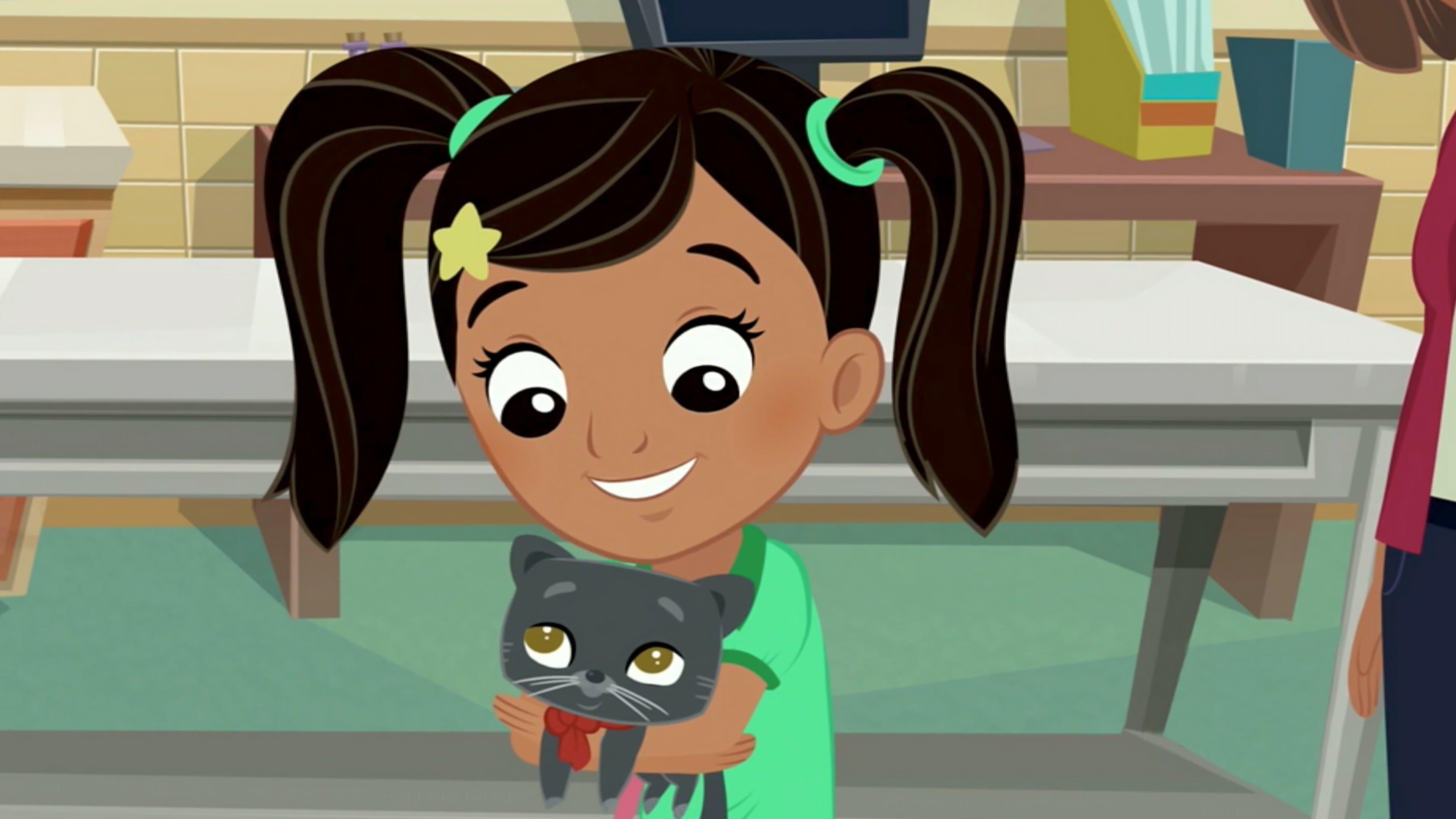 Nina Finds a Kitten; Nina's Big Race