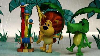 Raa Raa's Rainy Day