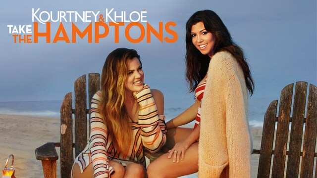 Kourtney and Khloé Take the Hamptons