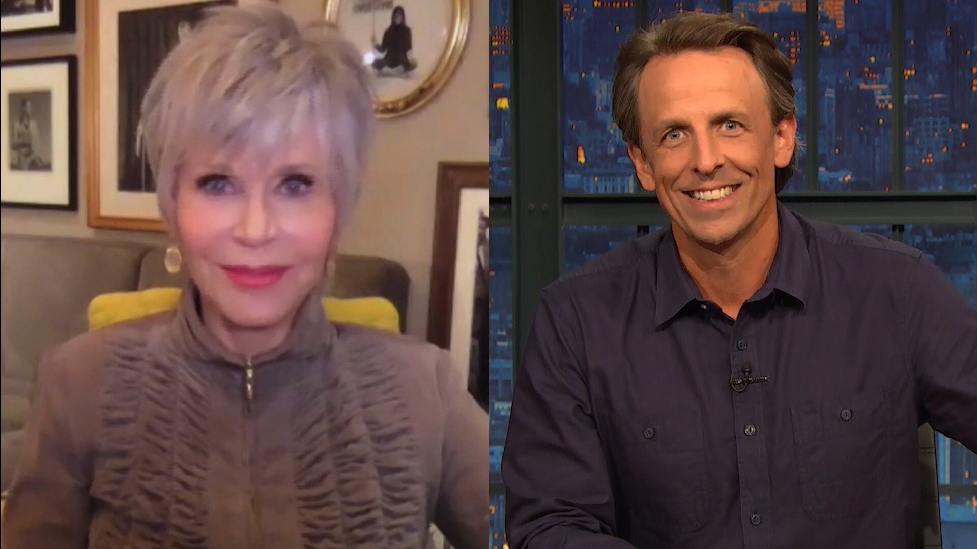 Jane Fonda; Jorma Taccone; Bones UK