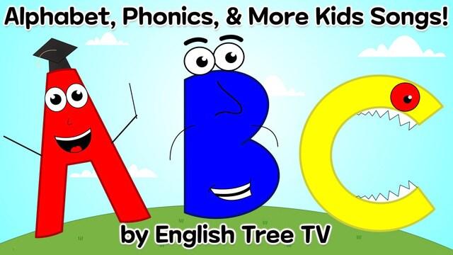 Alphabet, Phonics & More Kids Songs!