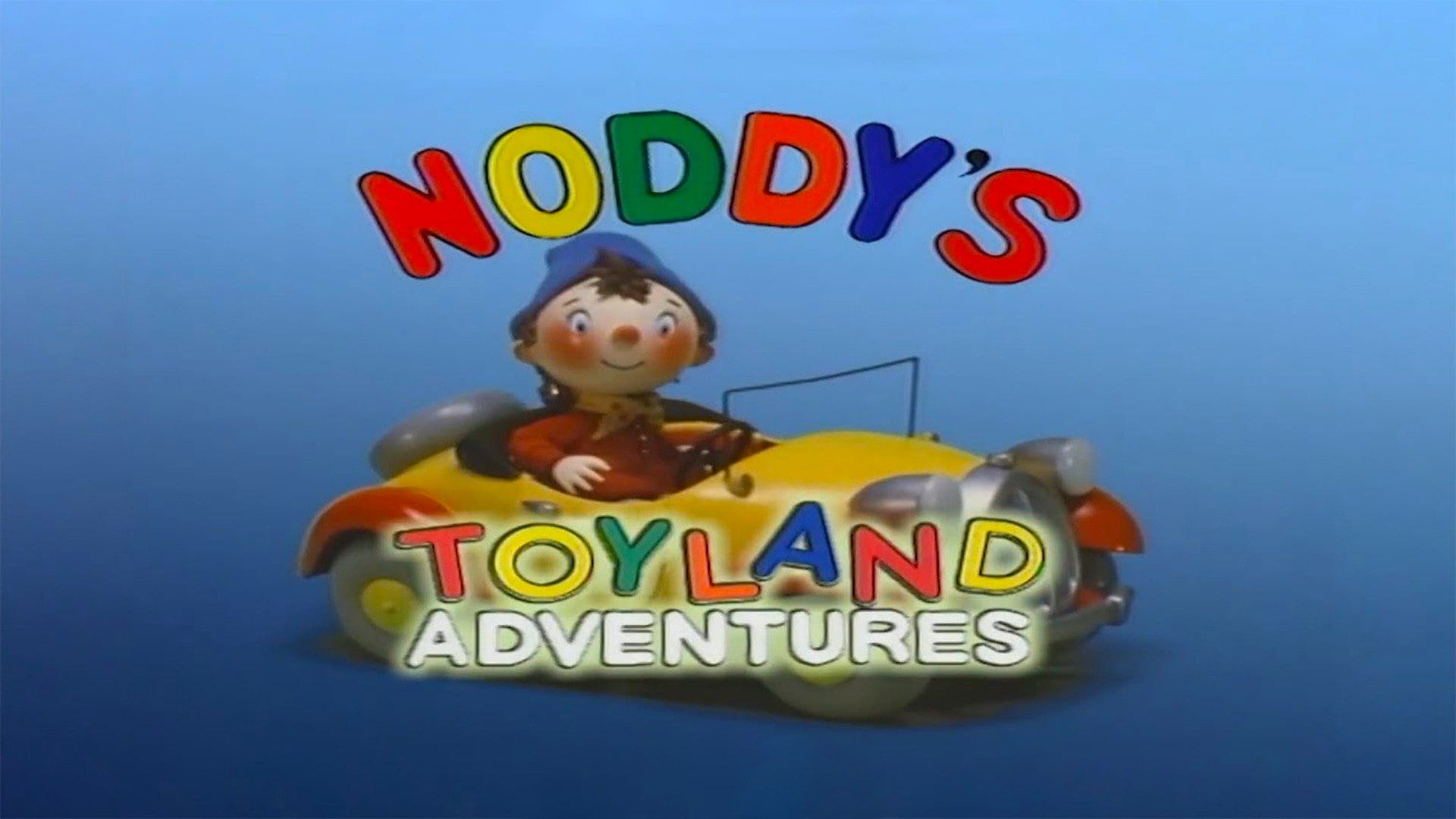 Noddy Gets Caught in a Storm