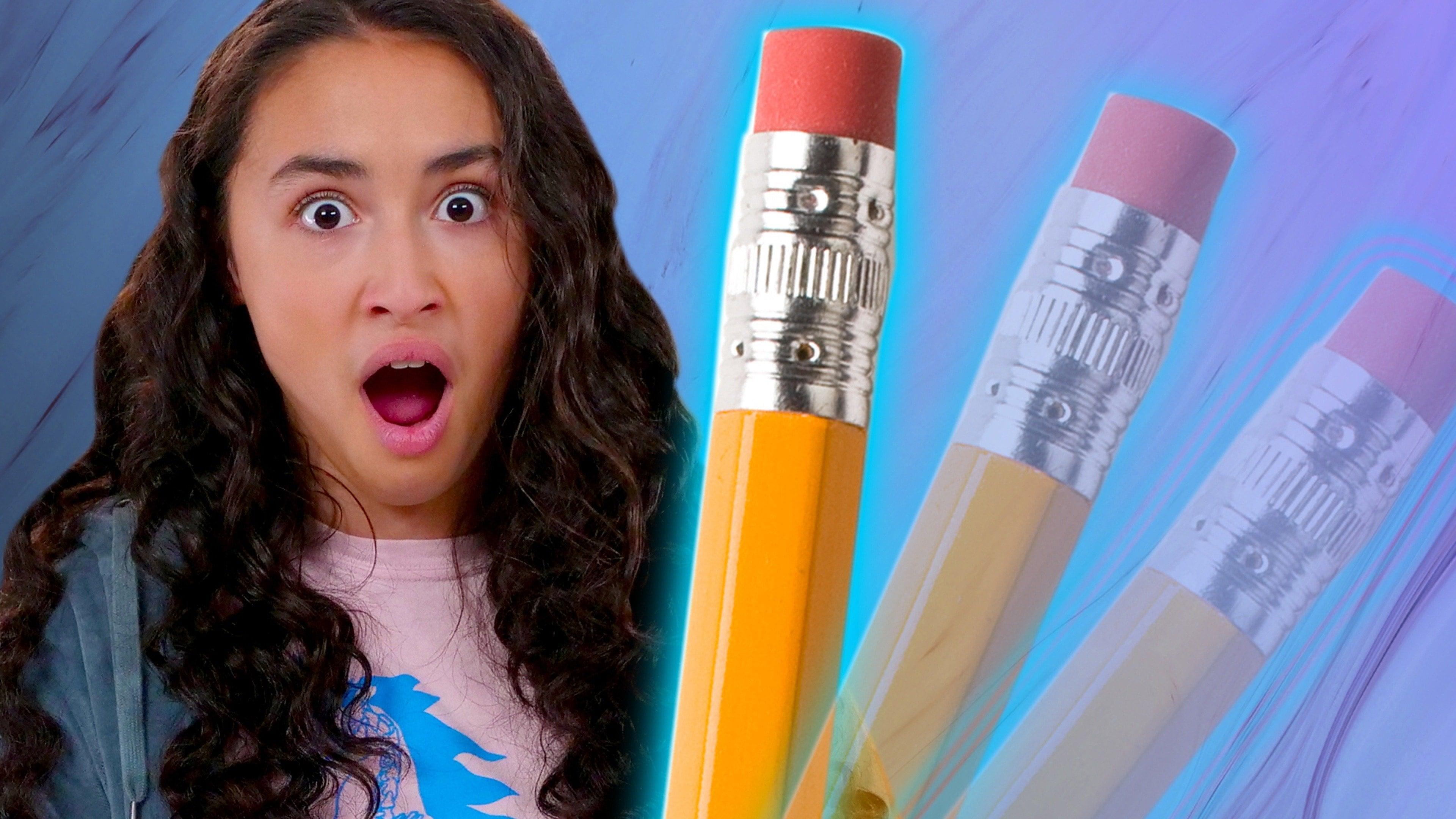 Disappearing Pencil Eraser Tricks