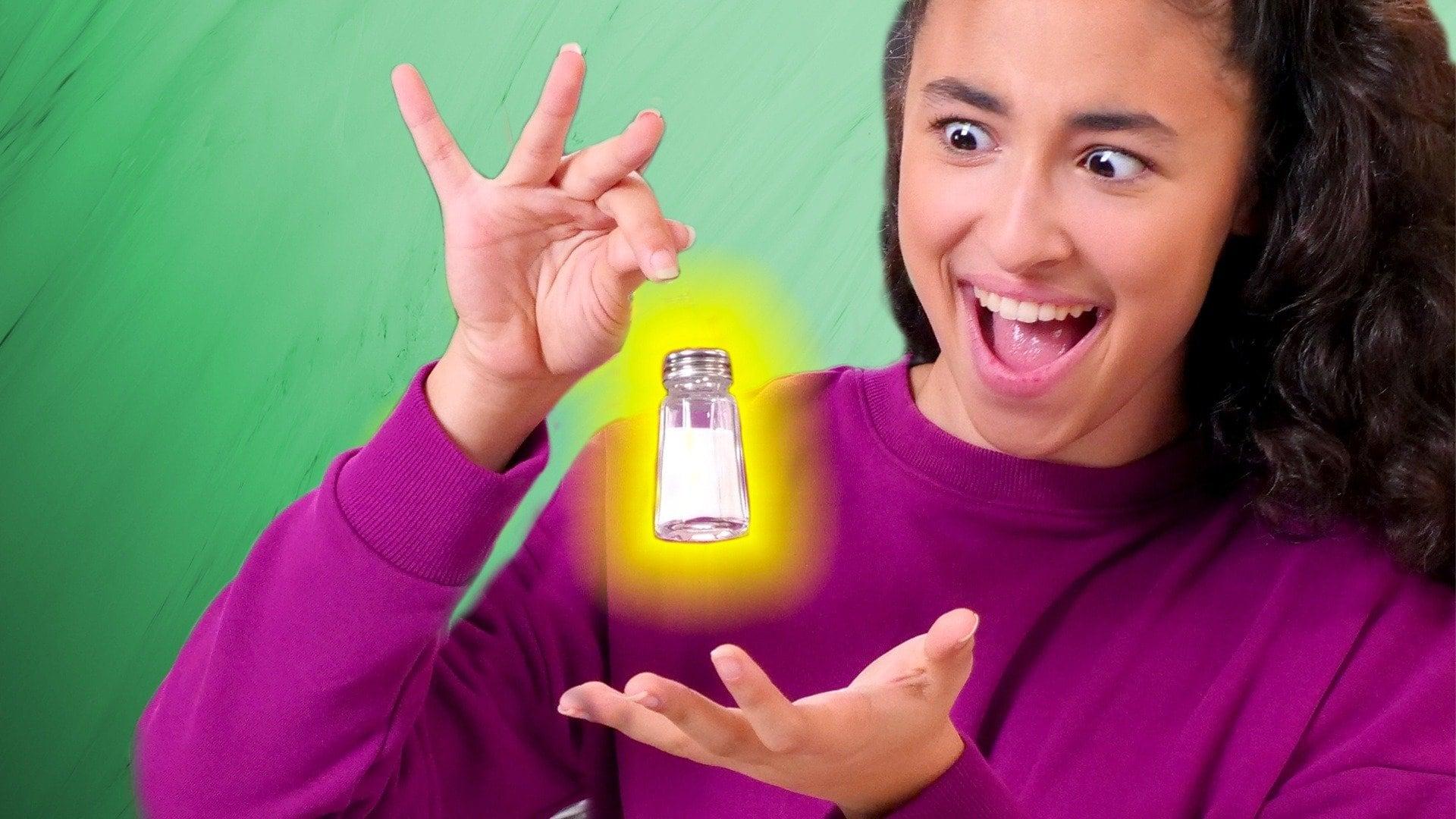 Levitating Salt Shaker Trick