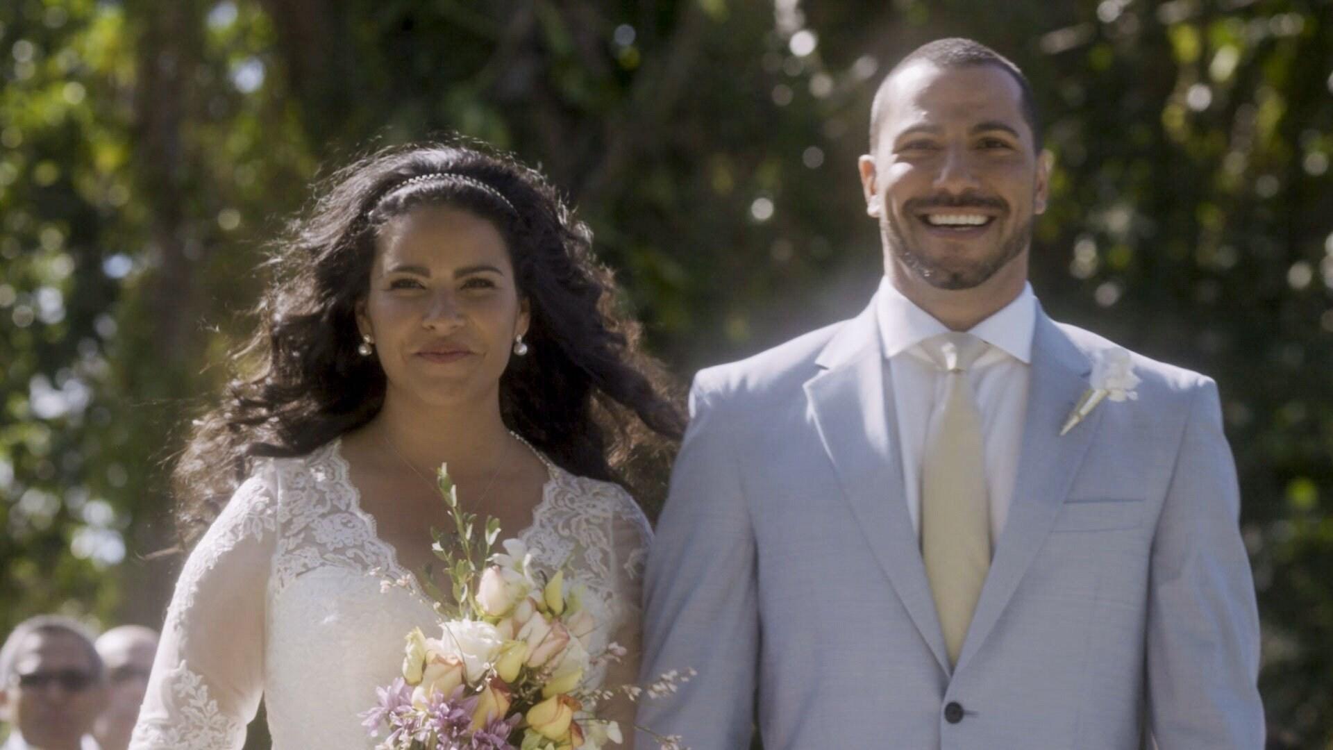 Eliza y Andrés se casan