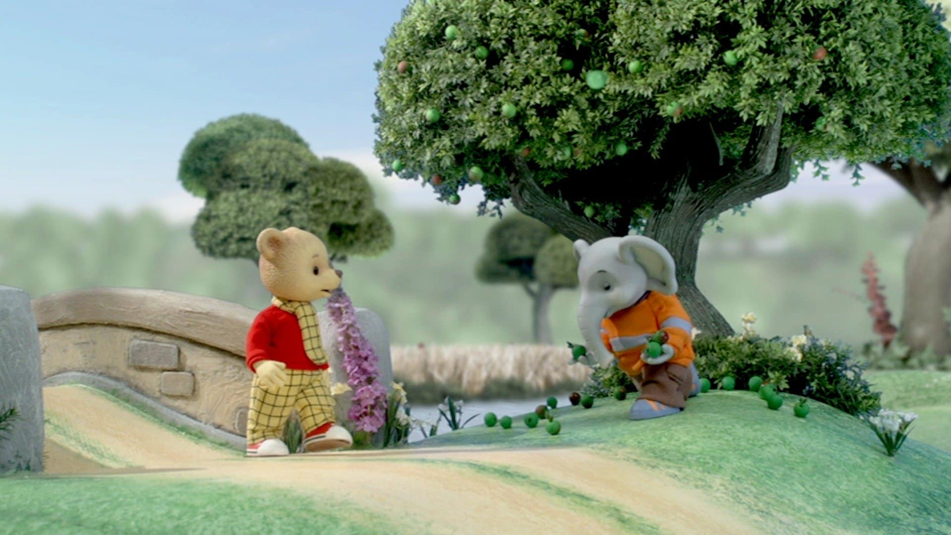 Rupert and the Apple River