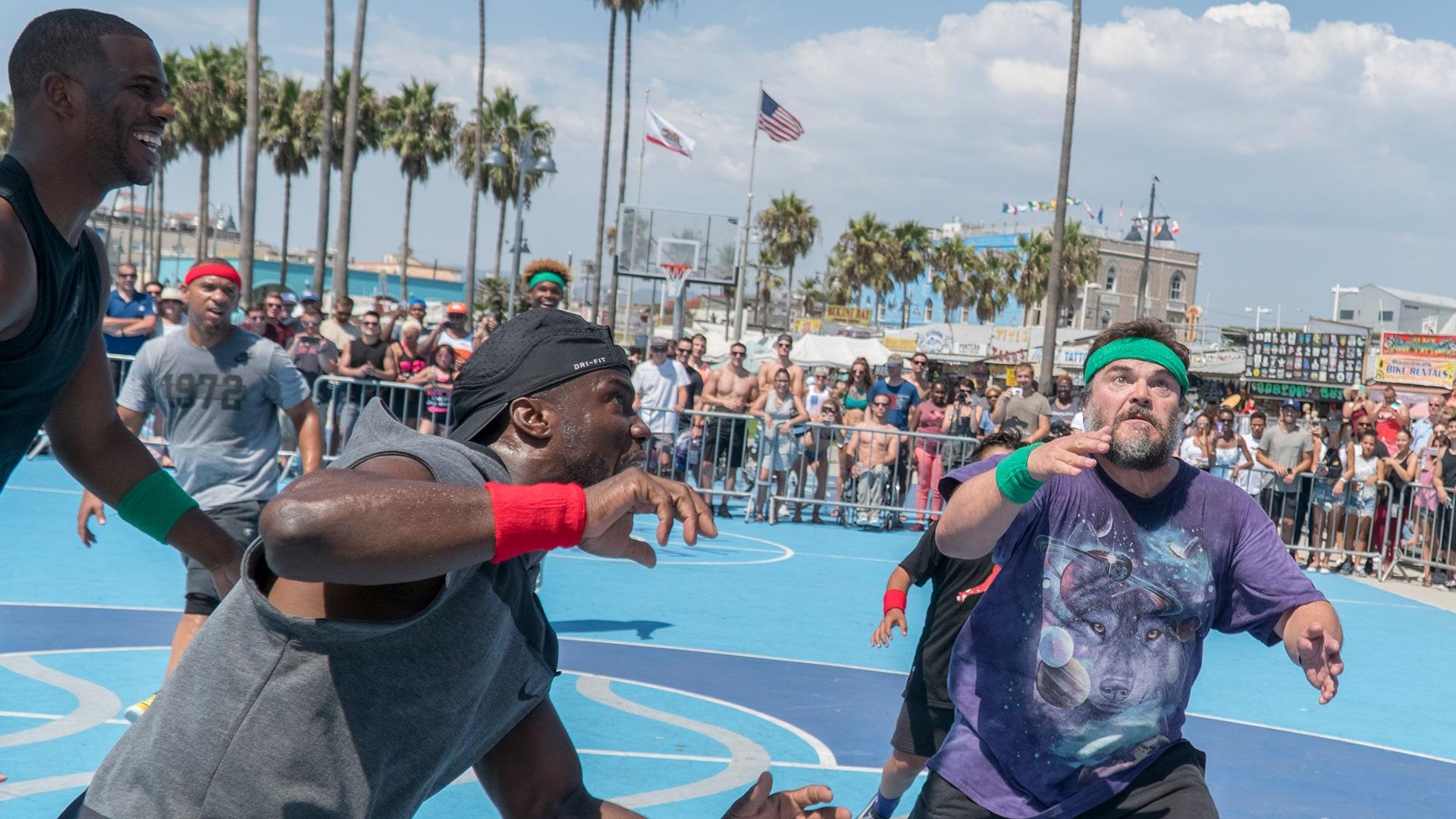 Basketball with Jack Black and Chris Paul