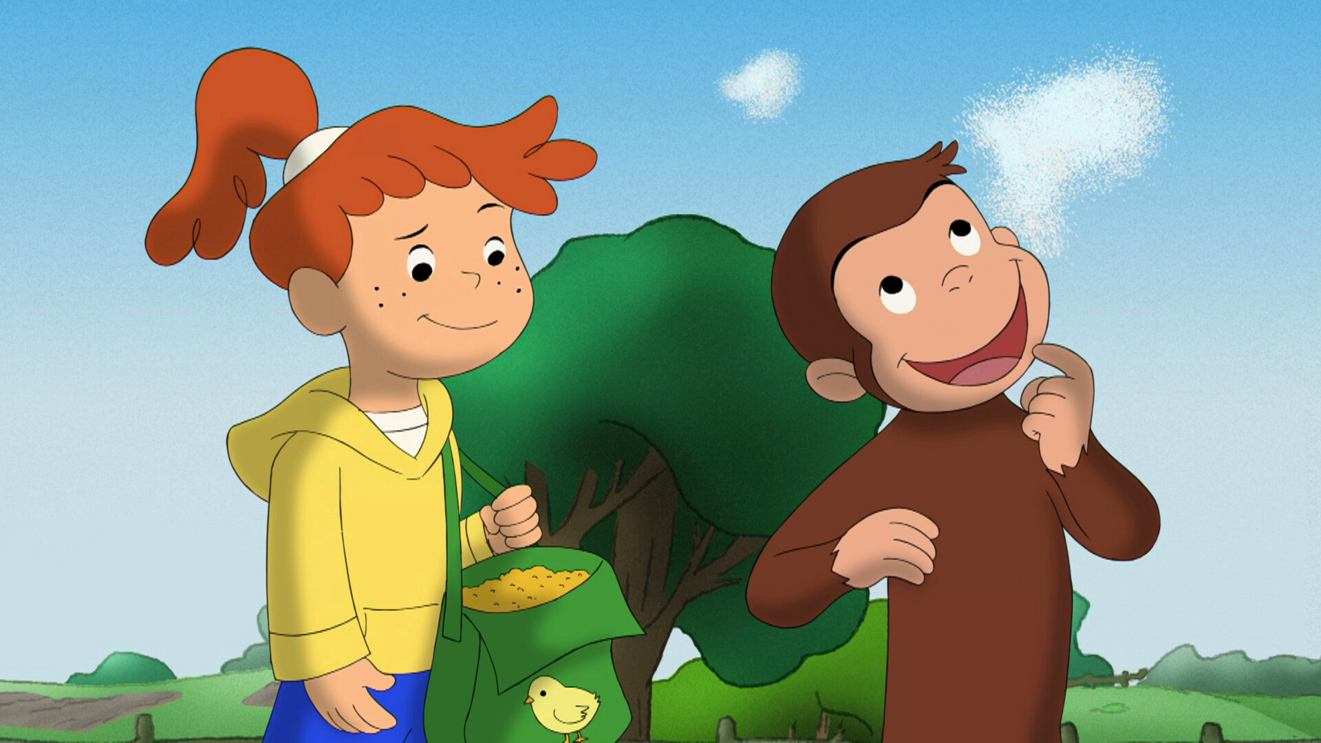 Curious George and the Wake-Up Machine; Healing Hundley