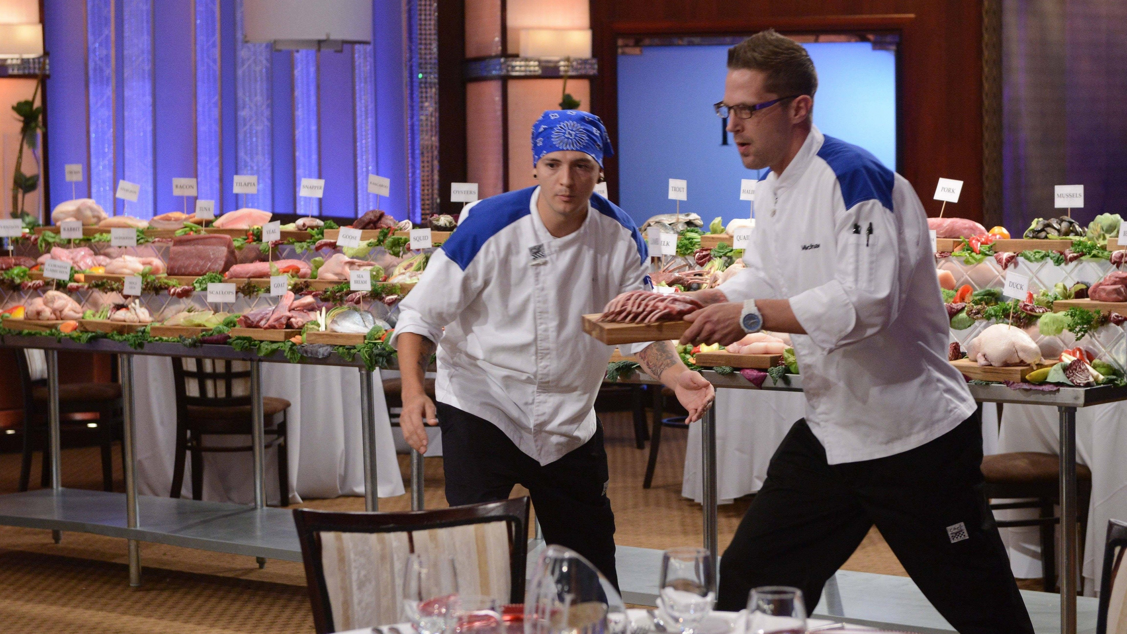 16 Chefs Compete, Part 1