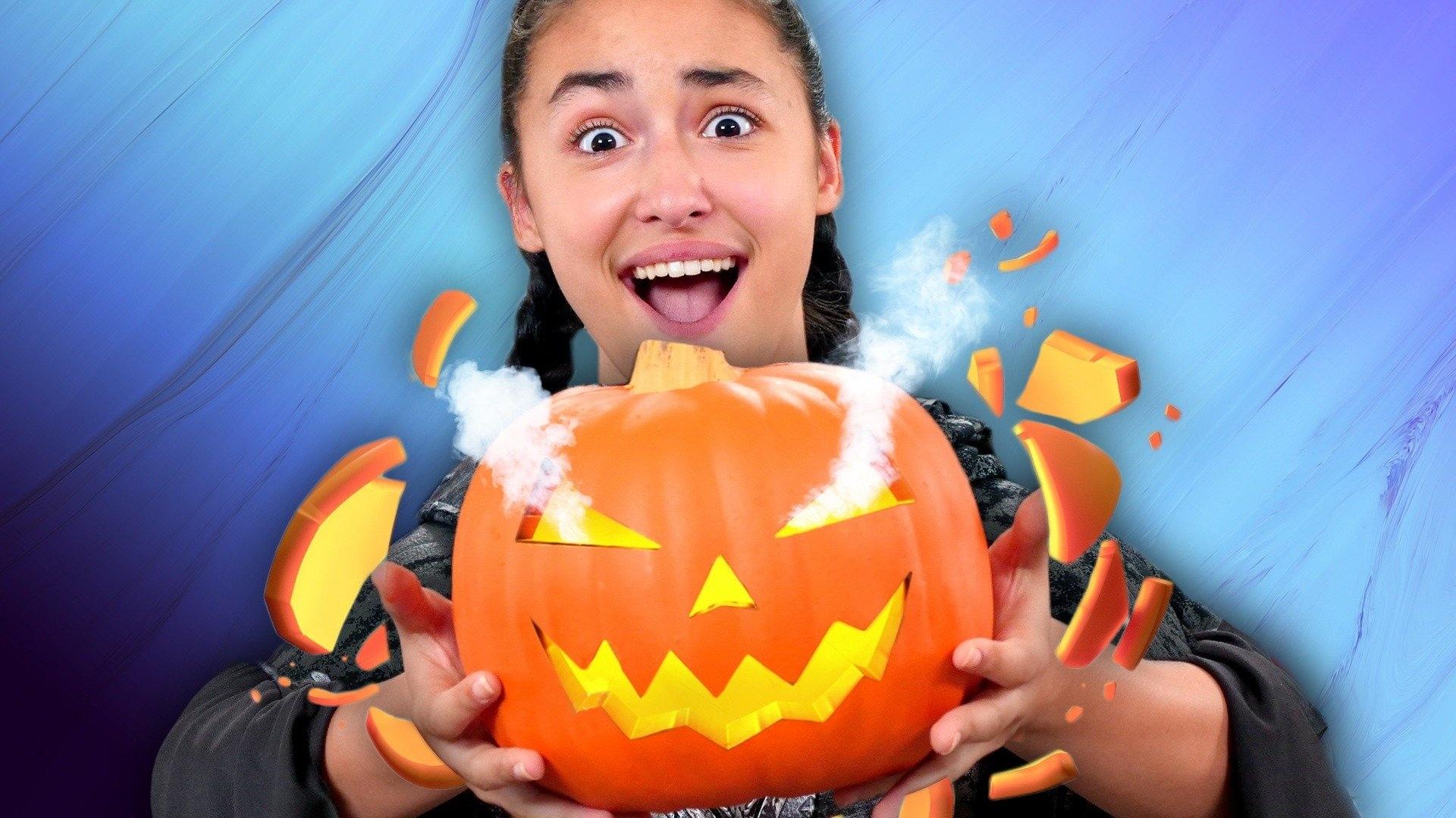Instant Pumpkin Carving Trick