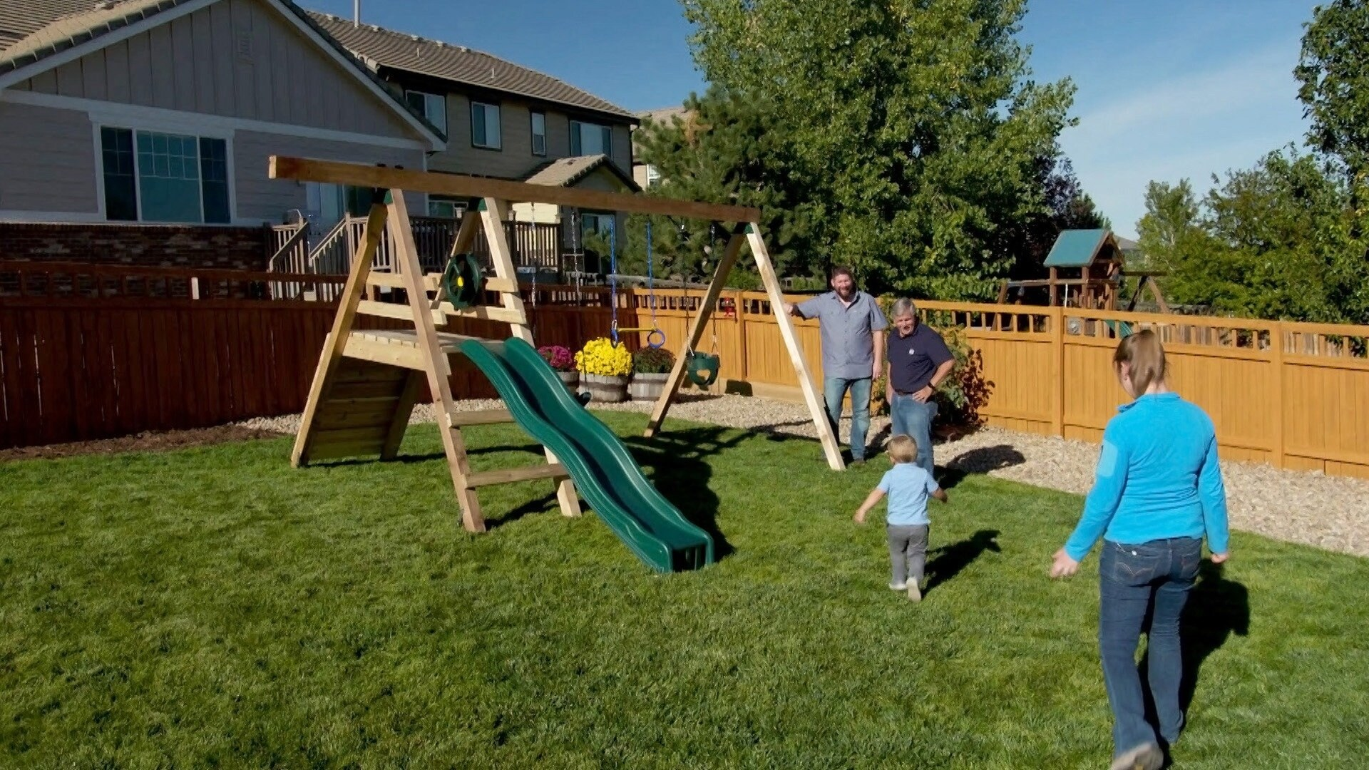 Swing Set; Robotic Construction