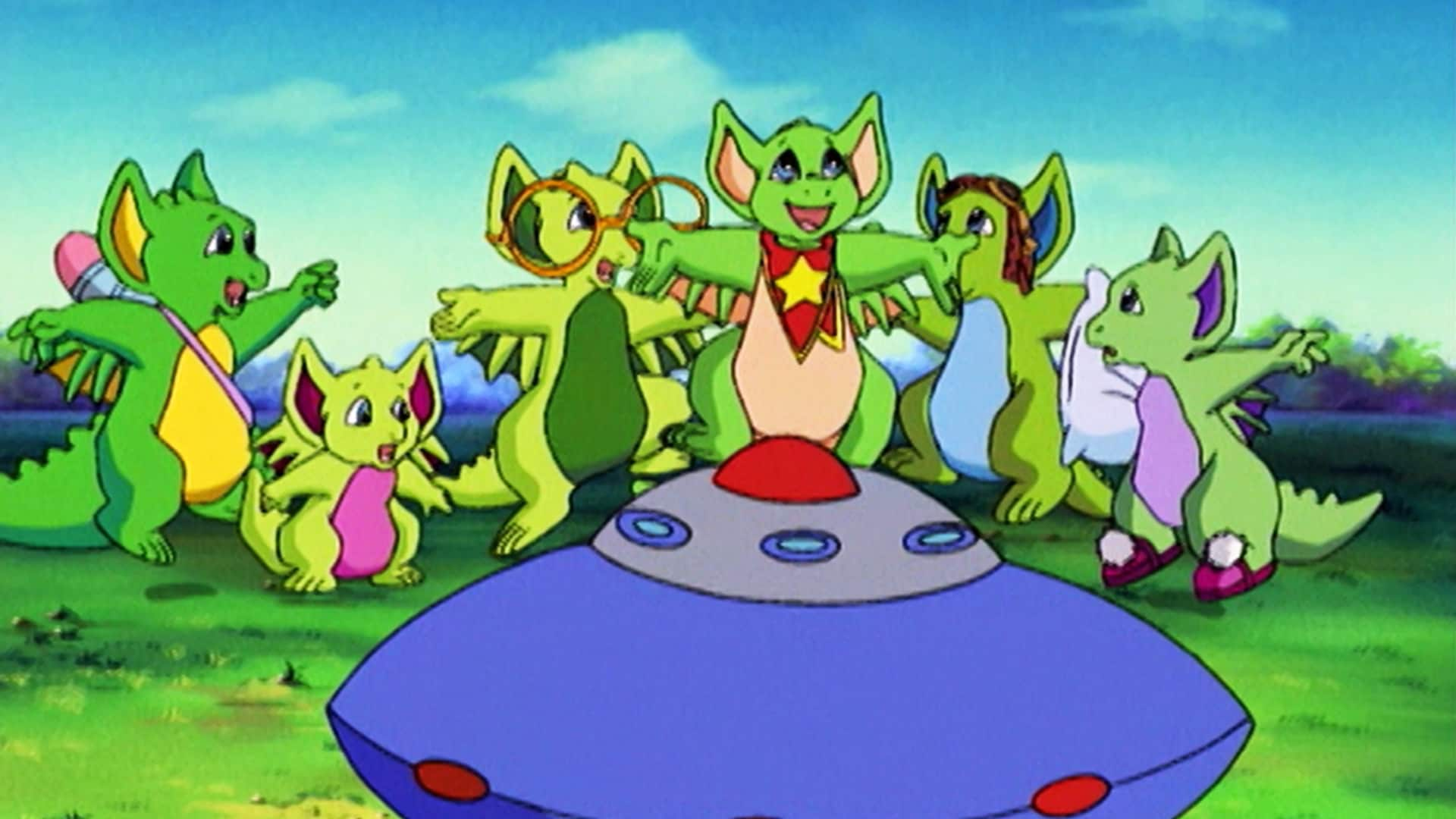 Pocket Dragons vs. The Flying Saucers; Minky Business