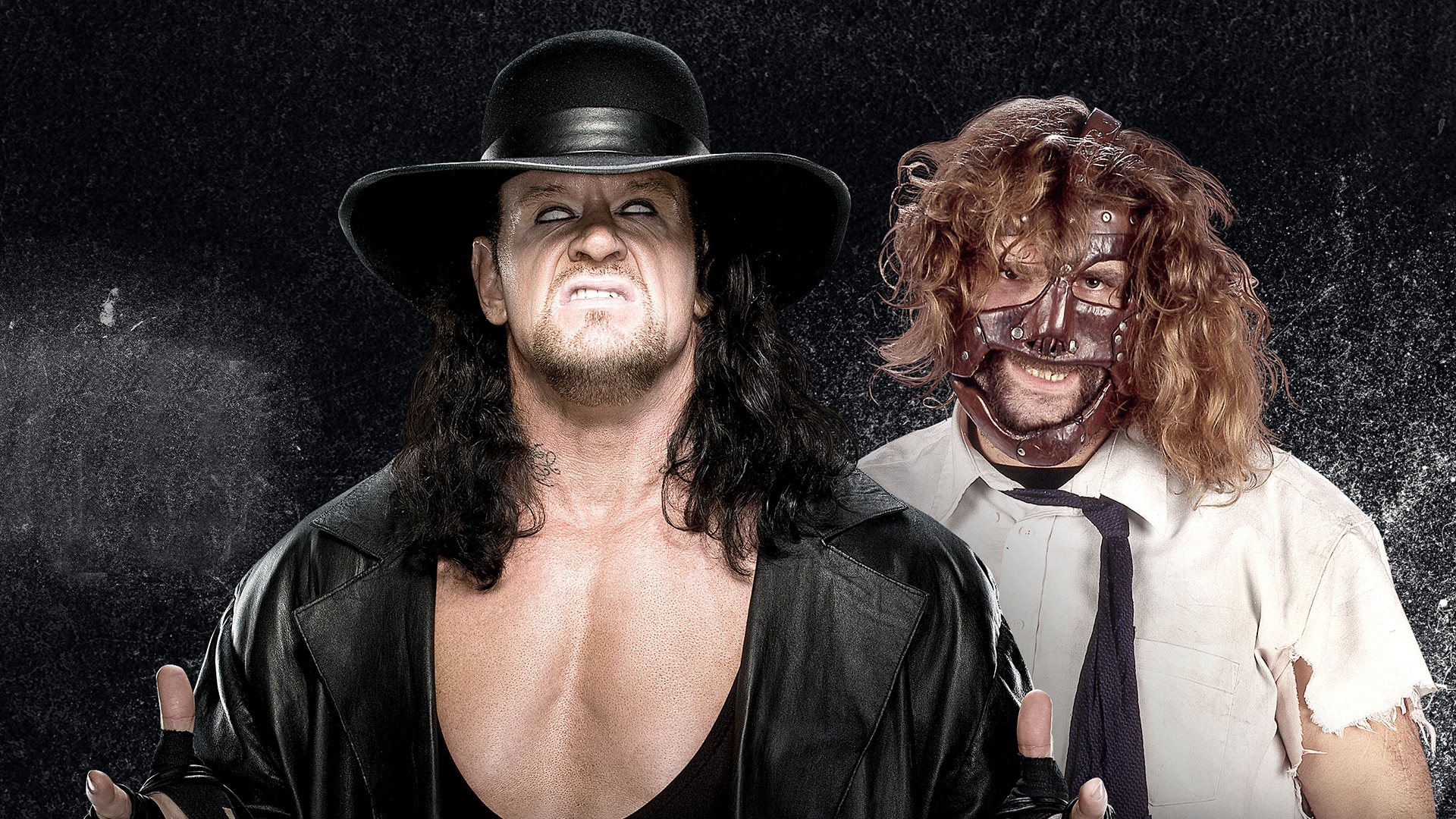 Undertaker and Mankind's Hell in a Cell Match