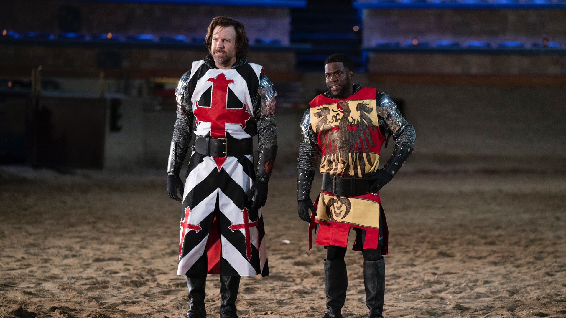 Jousting with Jason Sudeikis and Kevin Hart
