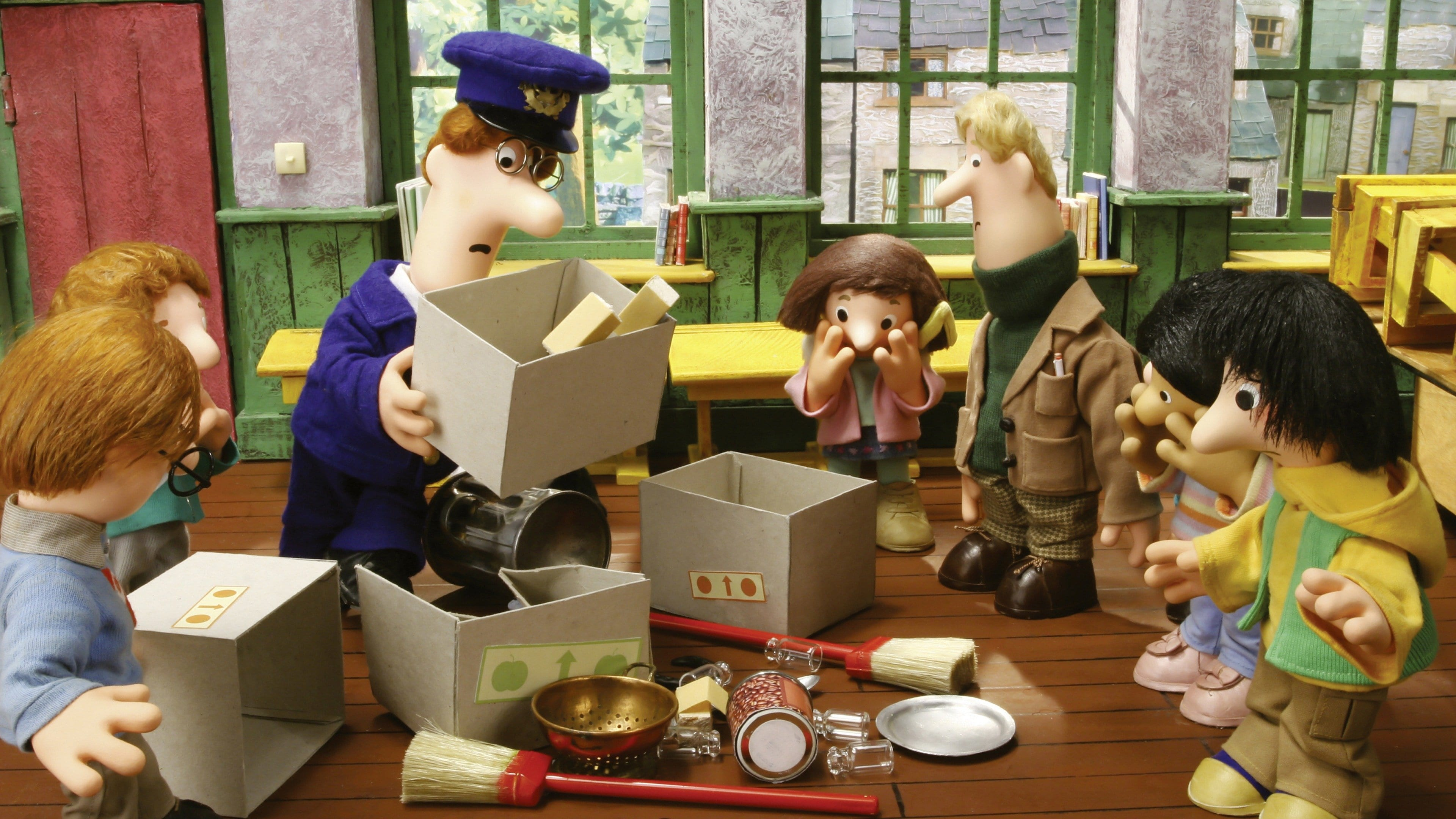 Postman Pat Never Gives Up