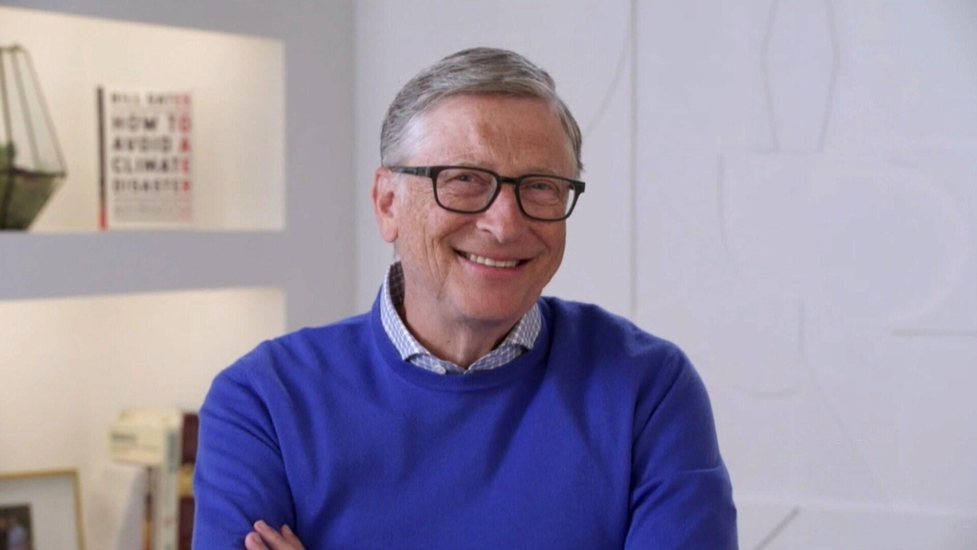 Bill Gates; Audra McDonald; John Herndon
