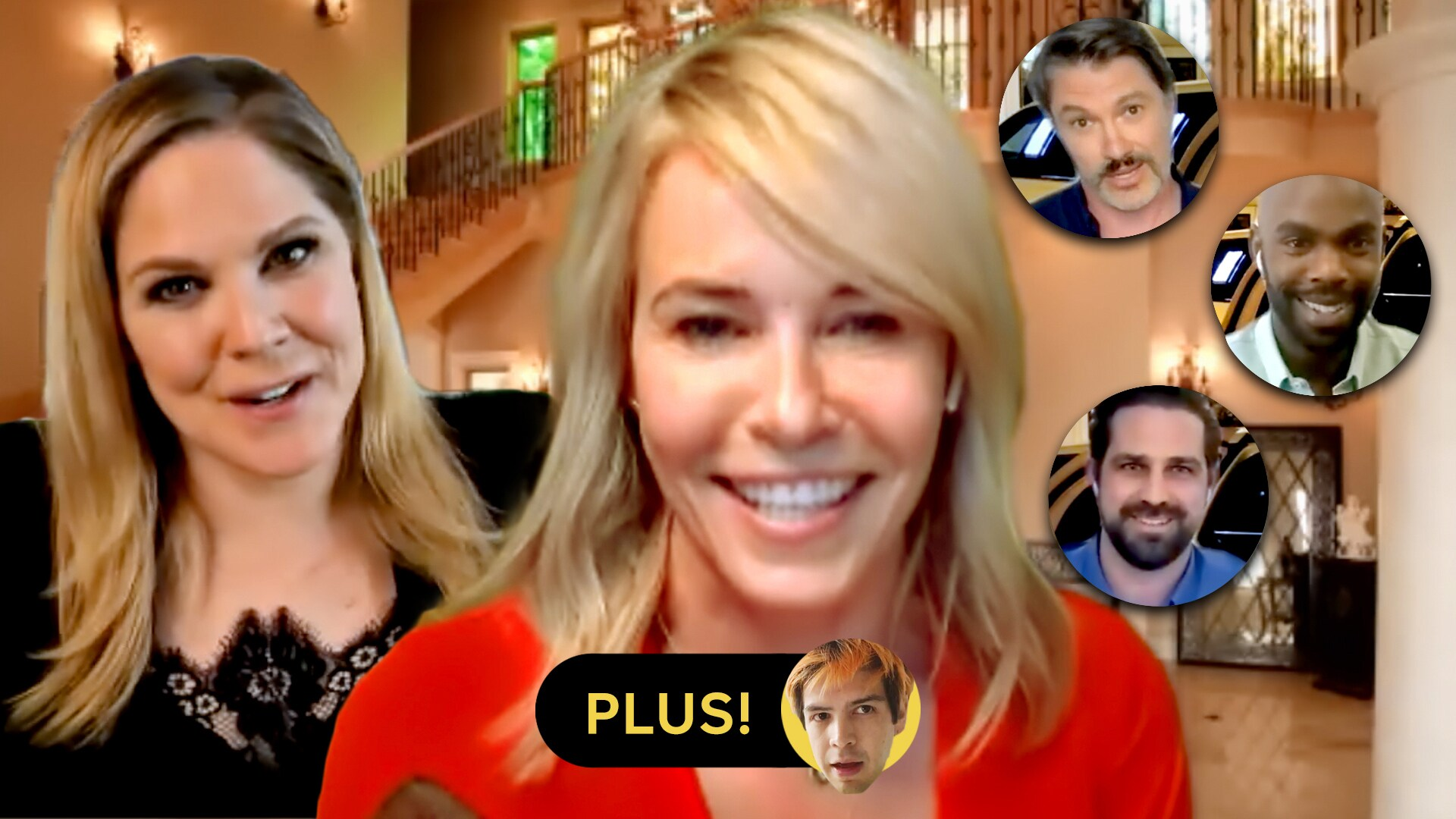 Chelsea Handler and Mary McCormack; Julio Torres