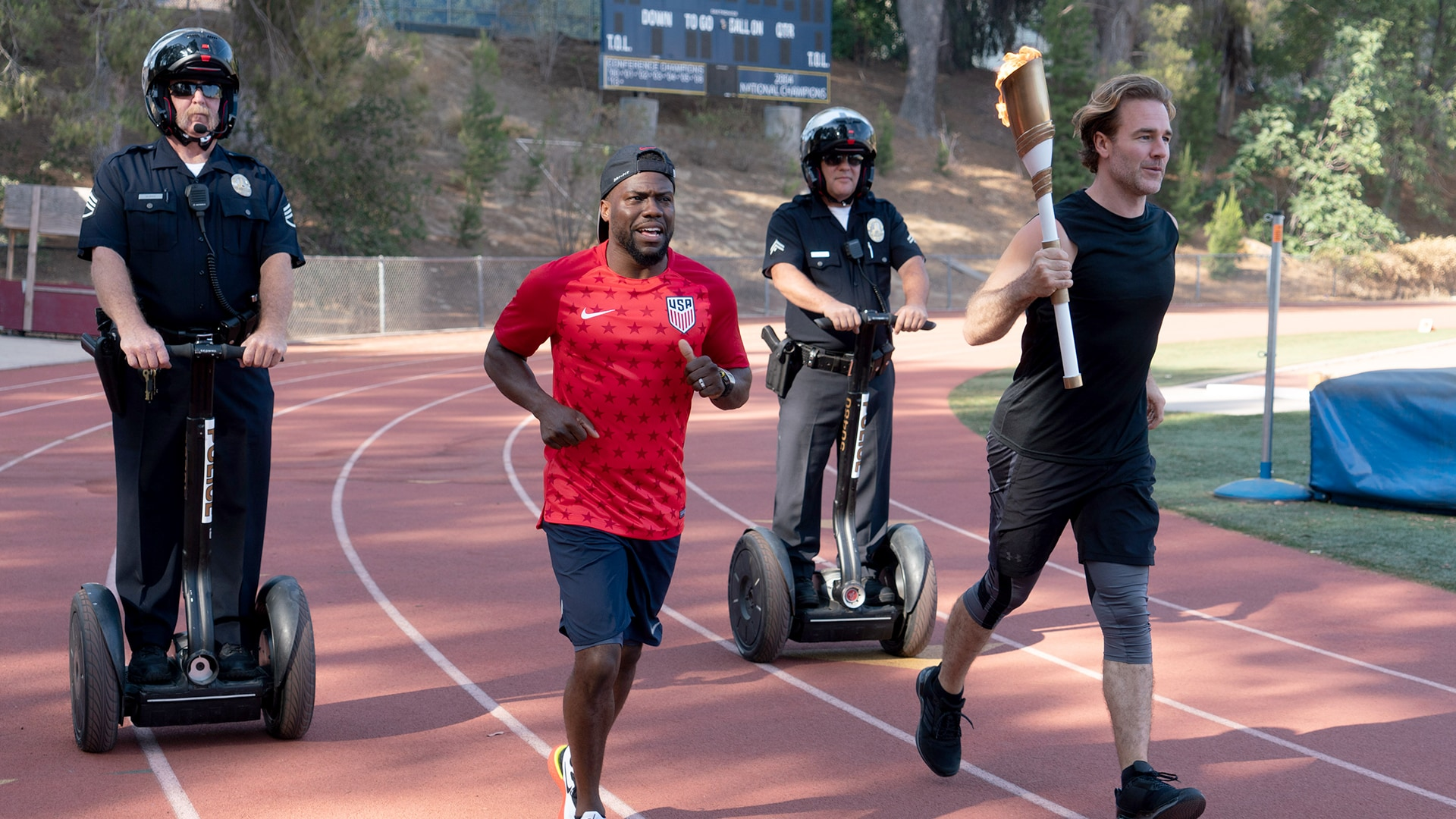 Track and Field with James Van Der Beek and Kevin Hart