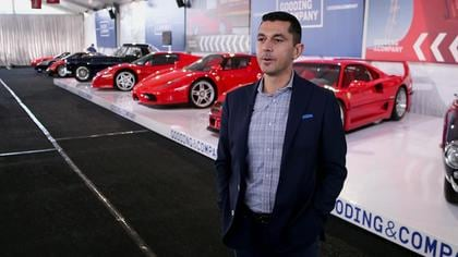 A $70 Million Collection & the $500K Toy Racetrack