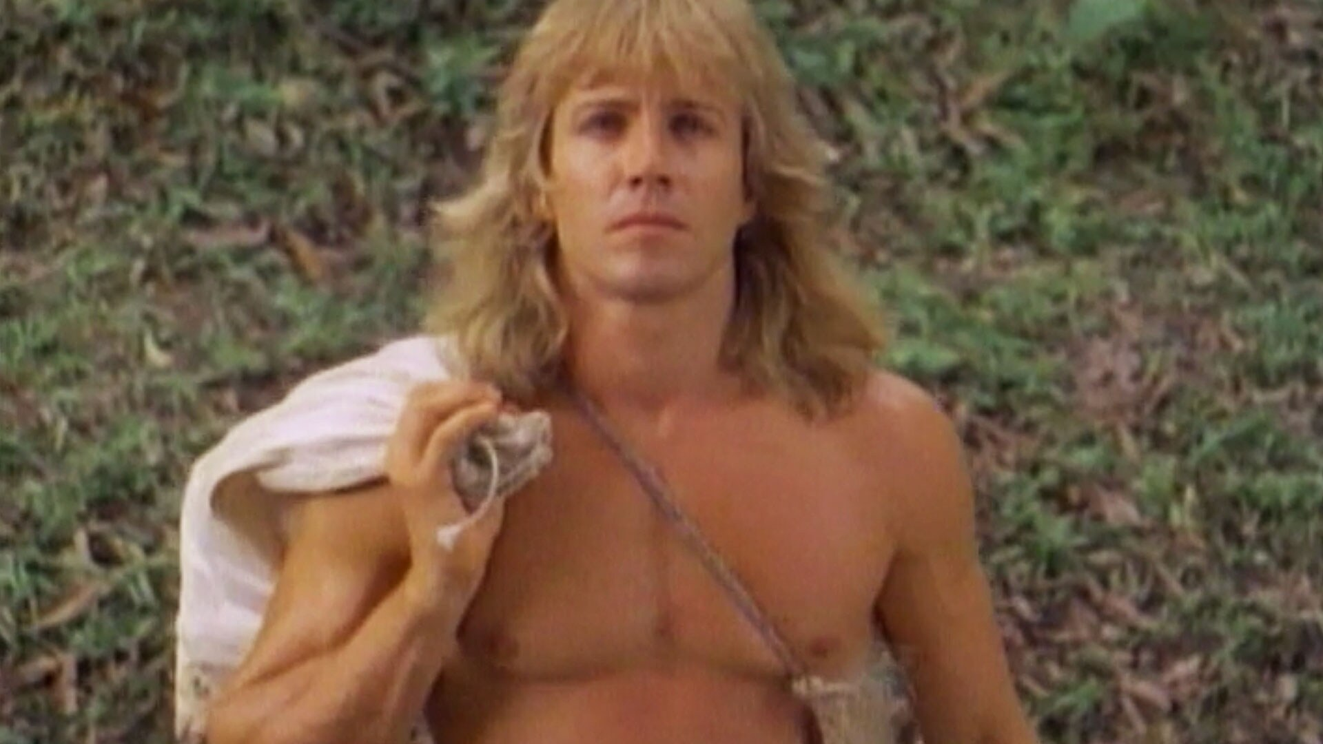 Tarzan in the Sacred Cave