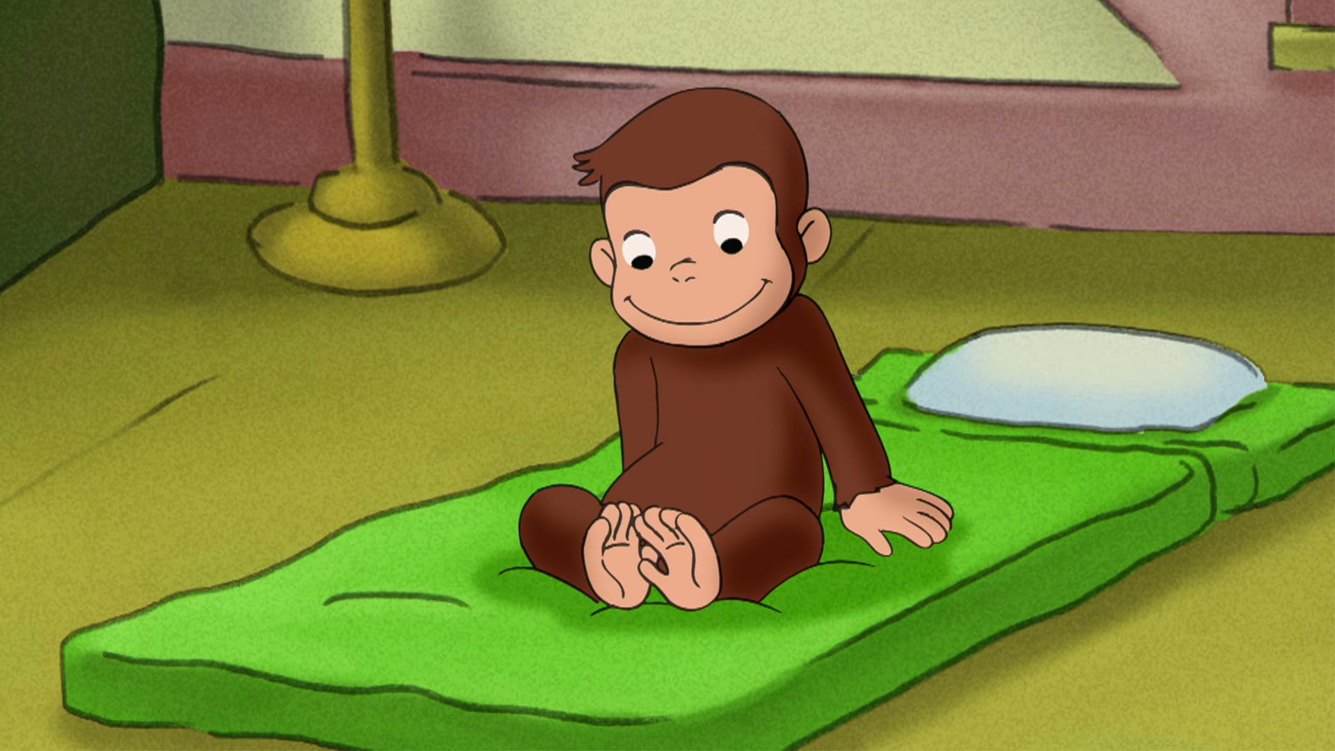 George's Sleepover; Curious George Goes to the Dentist