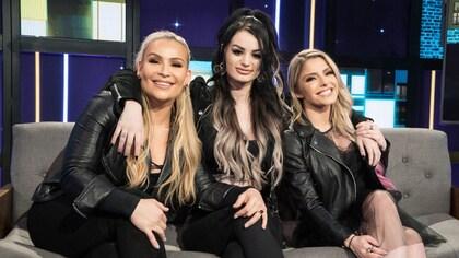 Natalya Neidhart; Paige; Alexa Bliss
