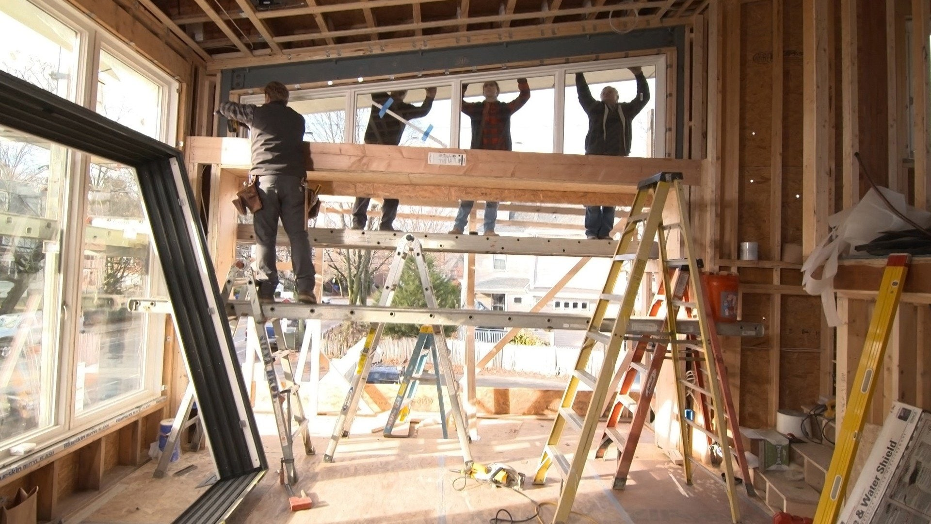 Brookline Mid-century Modern House: See Glass