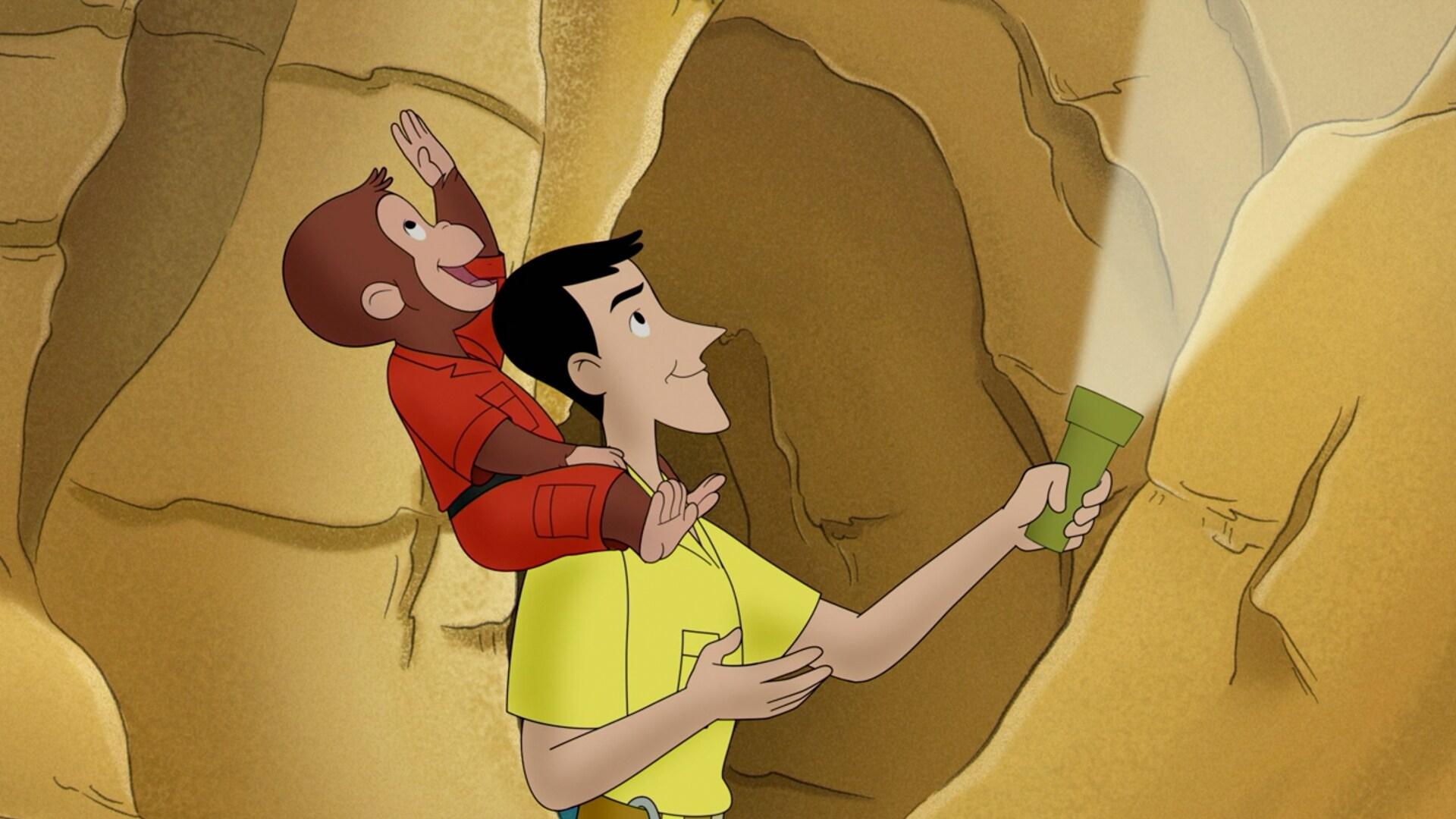 Spelunkey Monkey; The Dive-In Movie