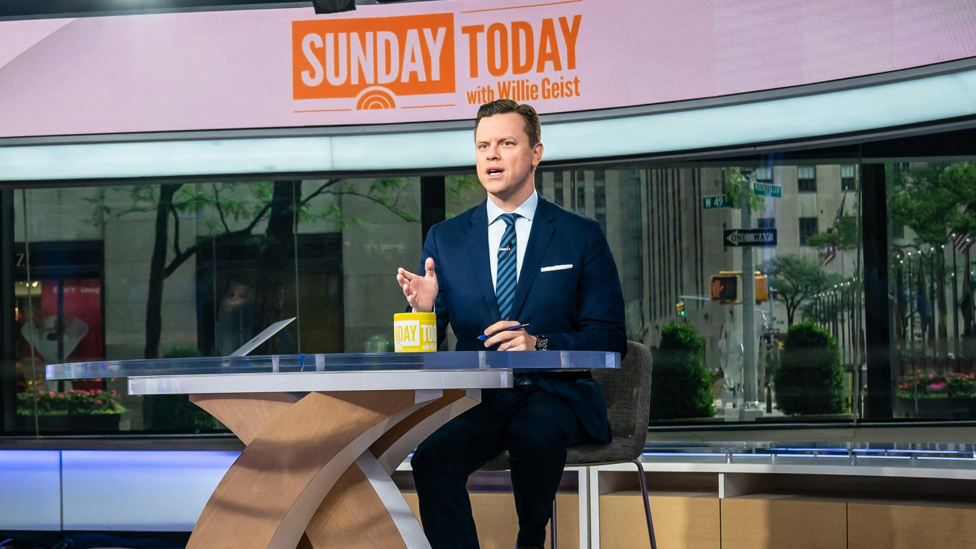 Watch Sunday Today with Willie Geist Online   Peacock