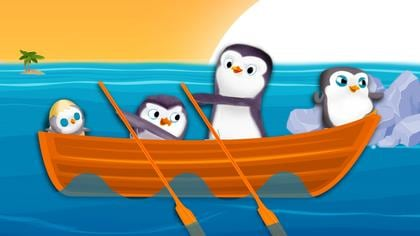 Row, Row, Row Your Boat with Penguins