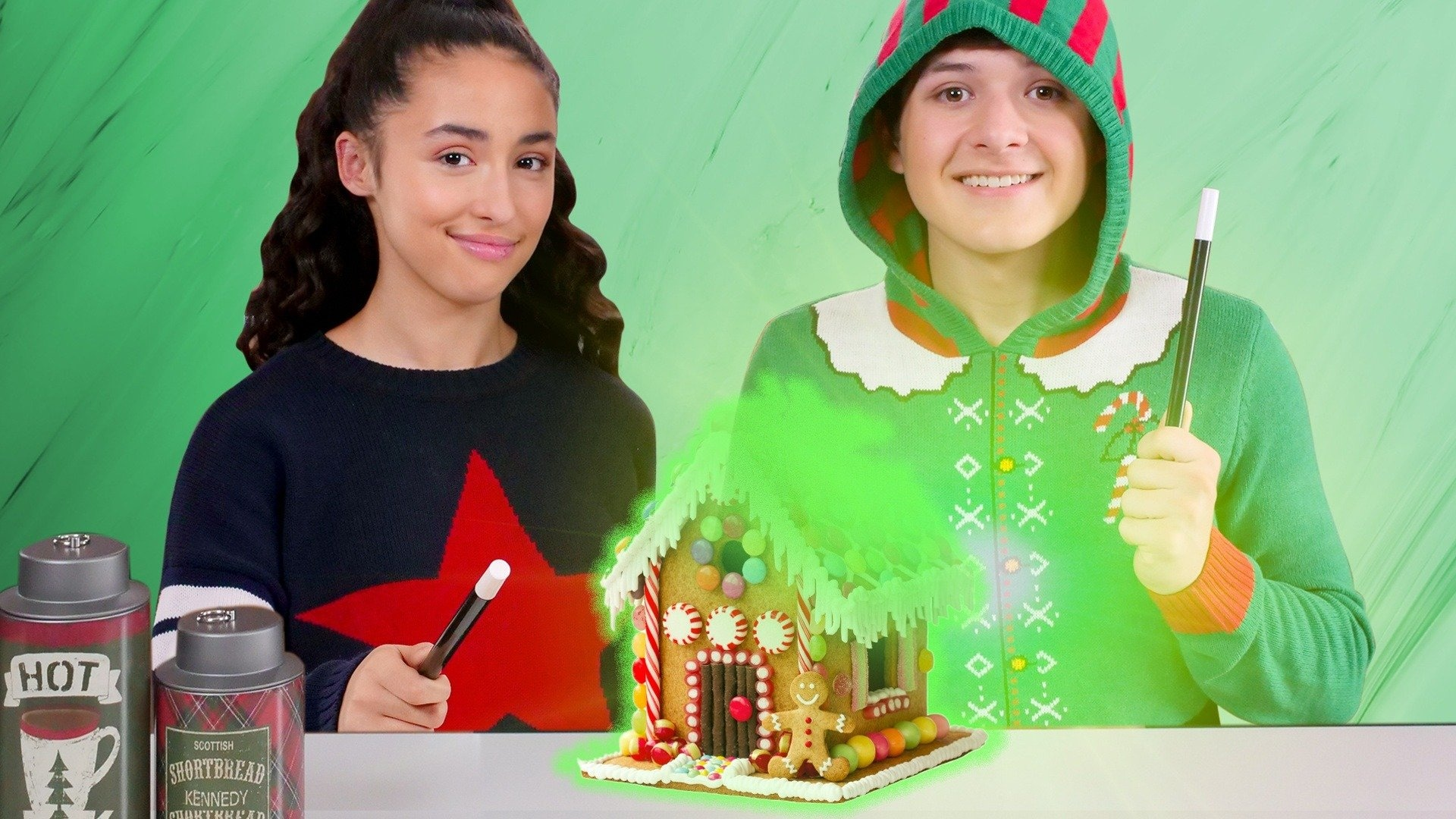 Magic Gingerbread House Trick