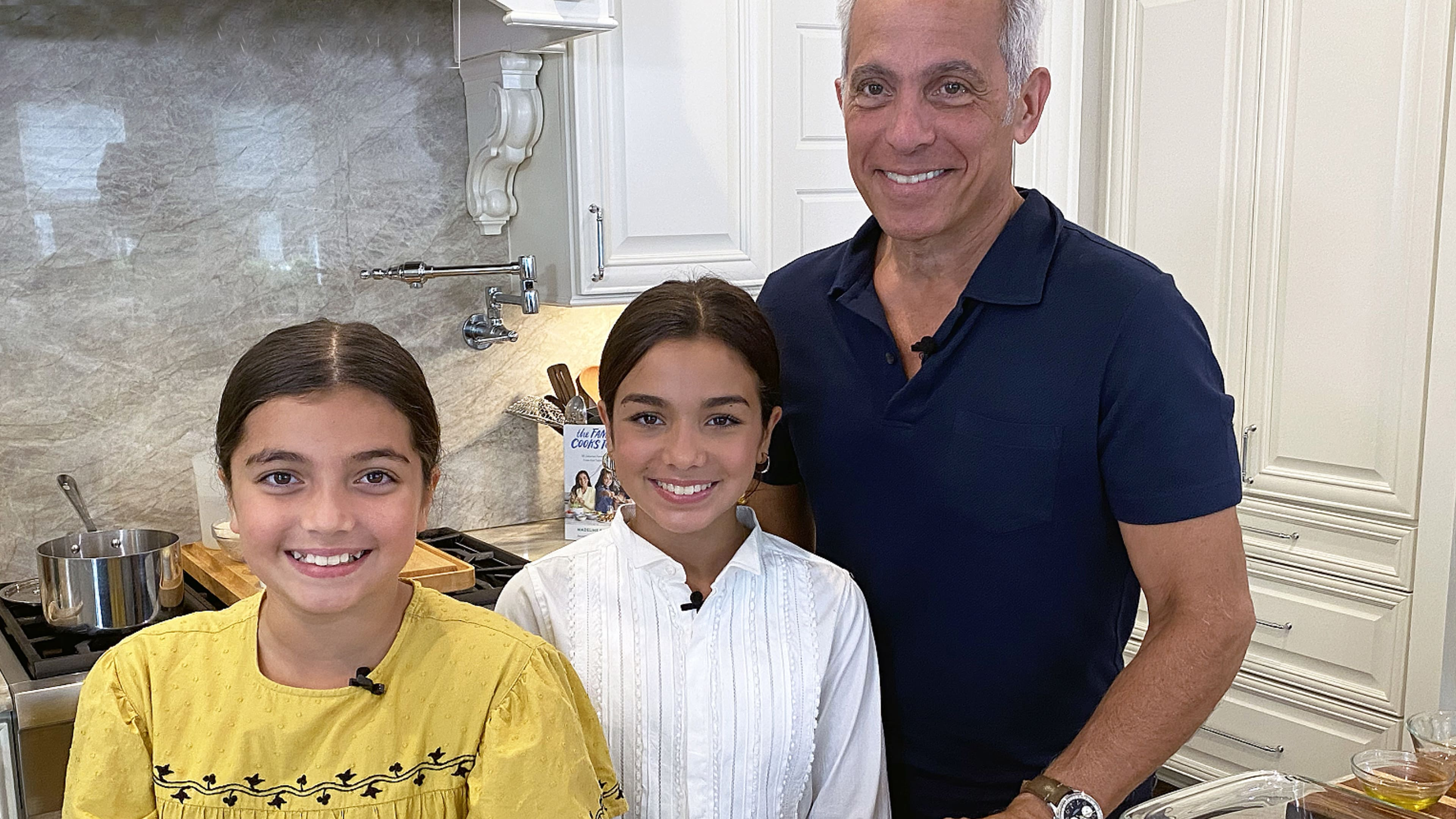 Get Cooking with Geoffrey Zakarian and His Daughters