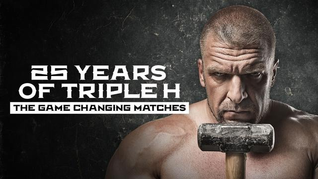 25 Years of Triple H: The Game Changing Matches