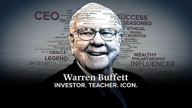Warren Buffett: Investor, Teacher, Icon