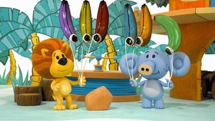 Raa Raa and the Banana Balloons