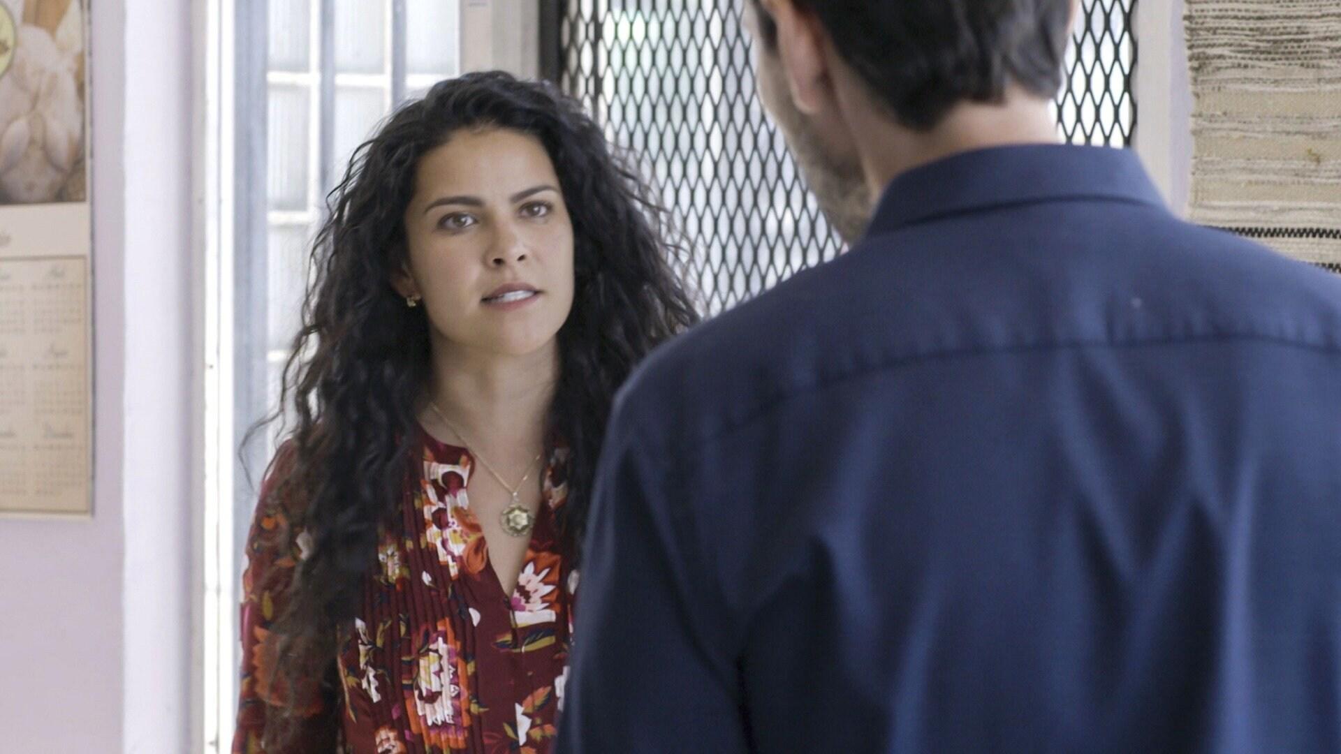 Eliza está furiosa con Max