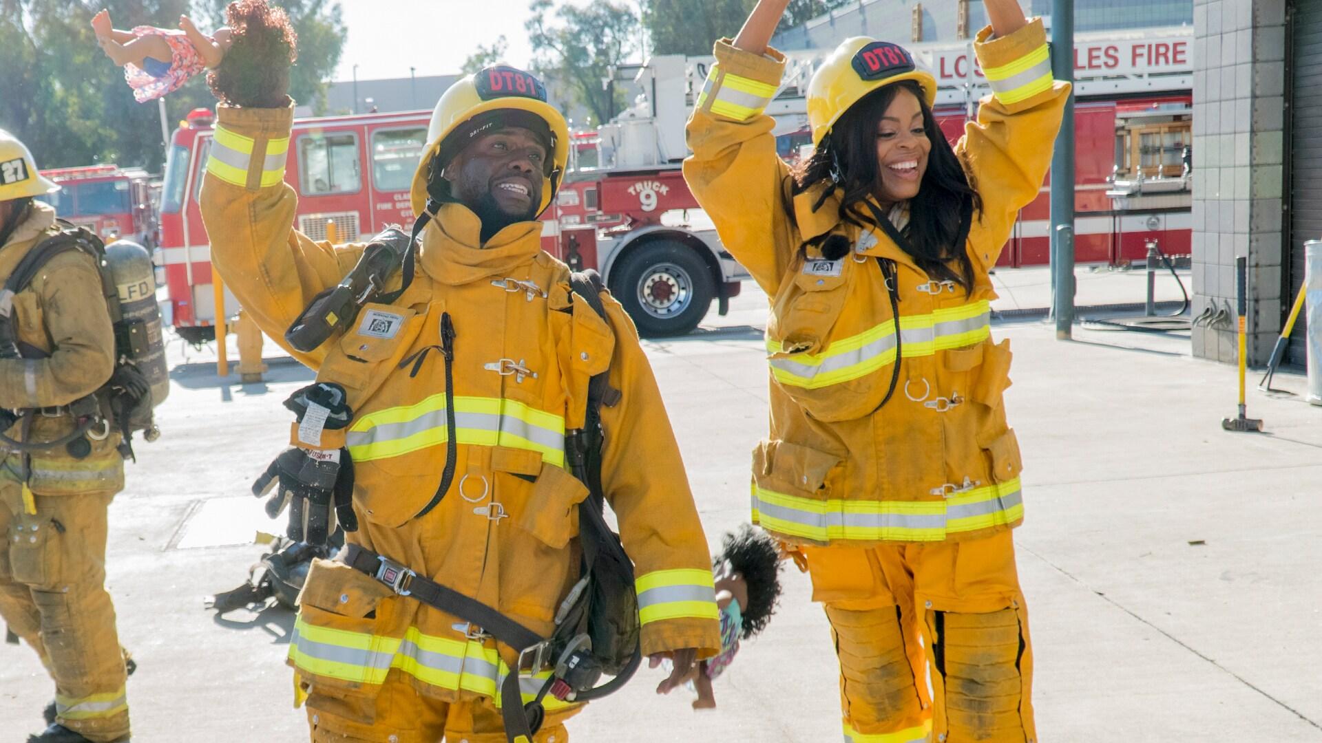 Firefighting with Niecy Nash