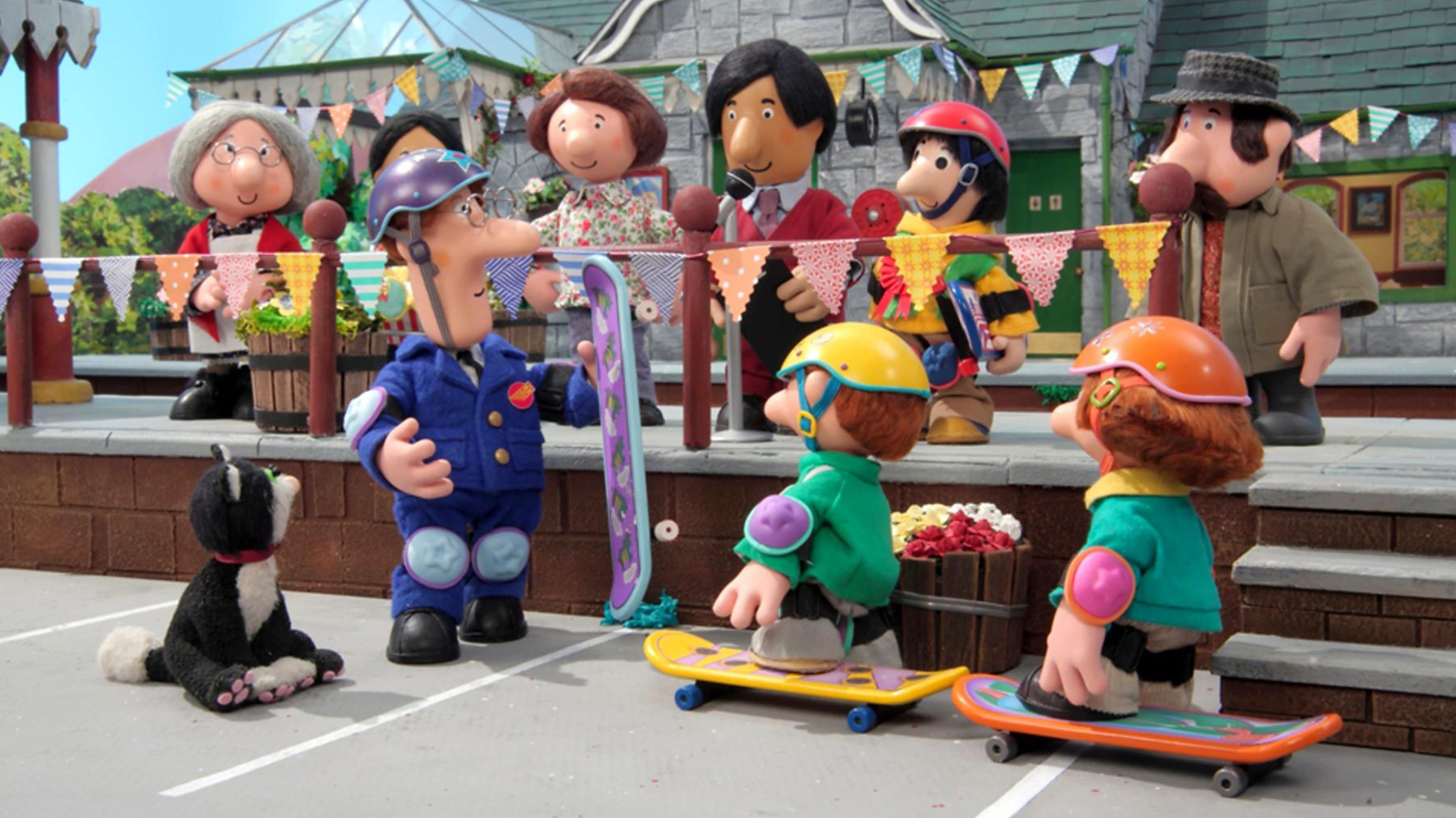 Postman Pat and the Super Skateboard Sizzle