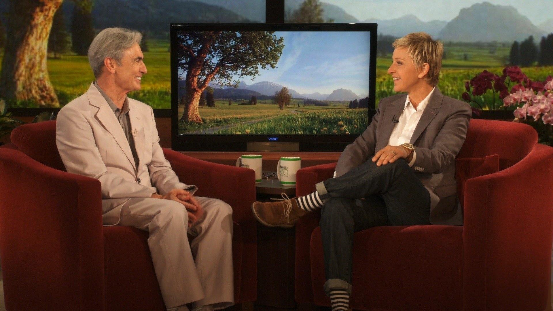 Ellen DeGeneres; Tim Conway