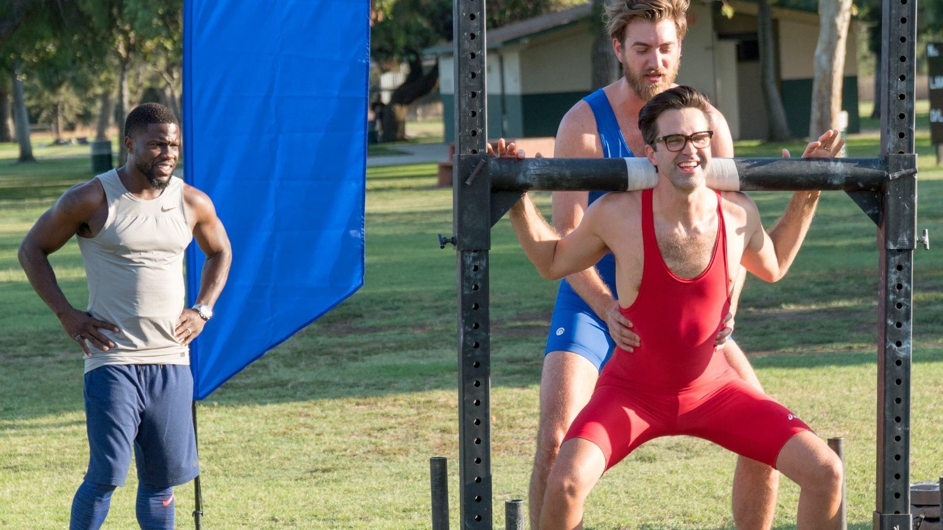 Strongman Competition with Rhett & Link