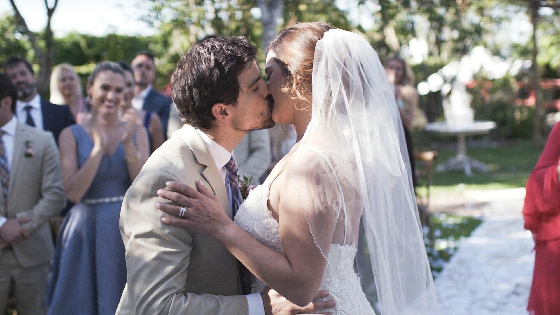 Erika y José María se casan