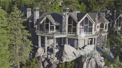 Lake Tahoe's Most Expensive Estate & World's First Luxury Jetliner