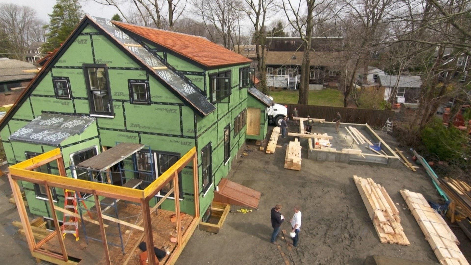 The Jamestown Net-Zero House: Modern Barn Raising
