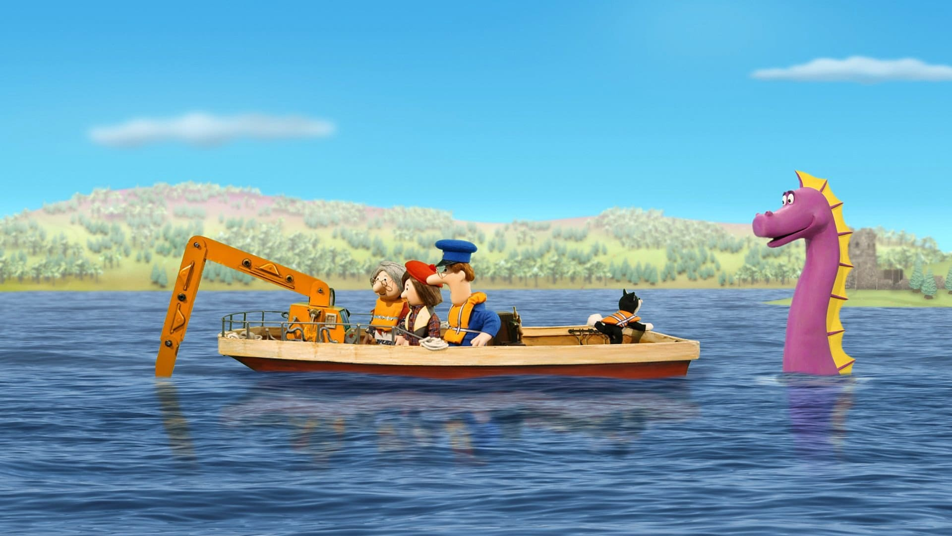 Postman Pat and the Loch Ness Monster