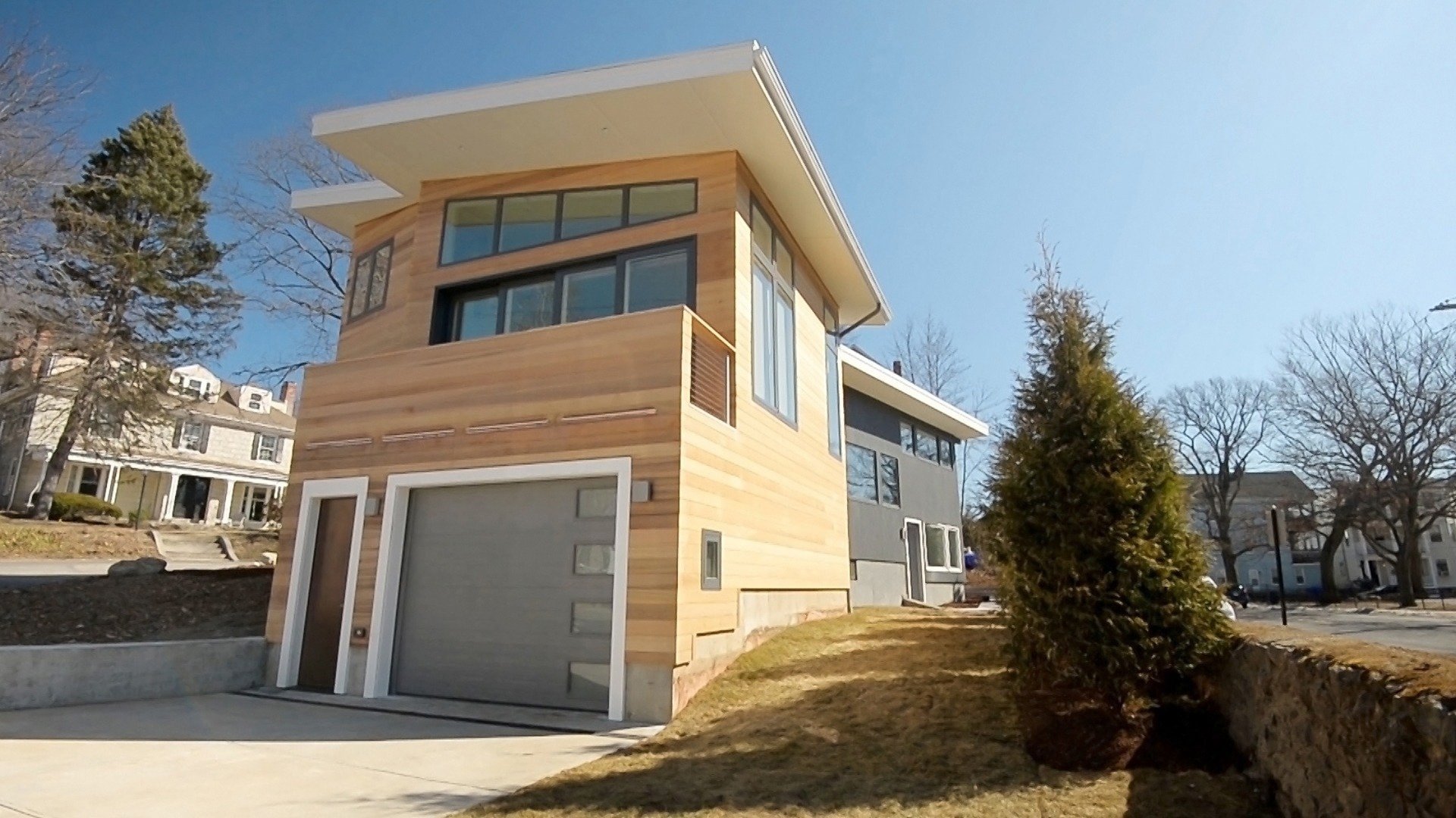 Brookline Mid-century Modern House: Taking Modern Back to the Future